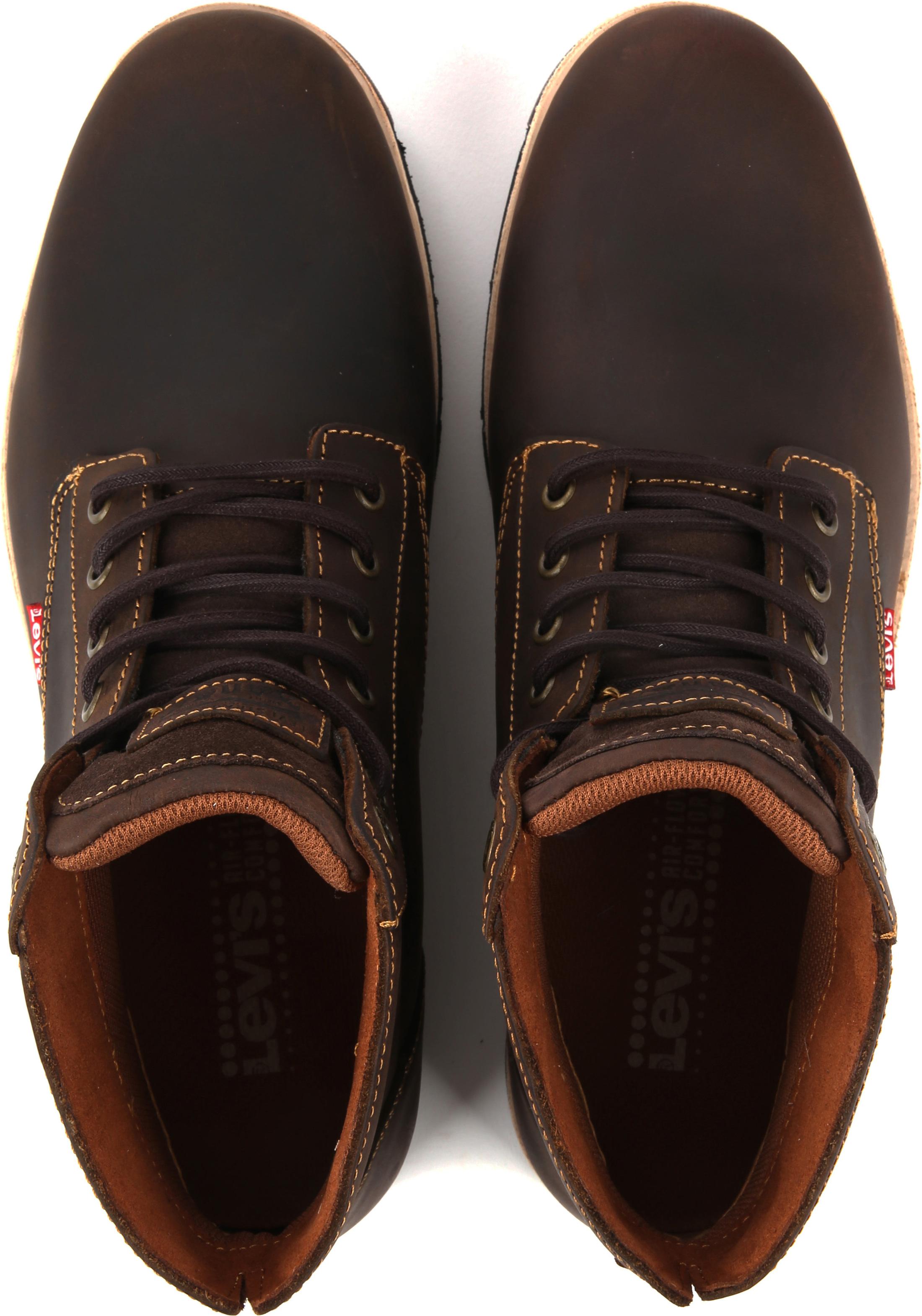 Levi's Jax Plus Boots Dark Brown foto 4