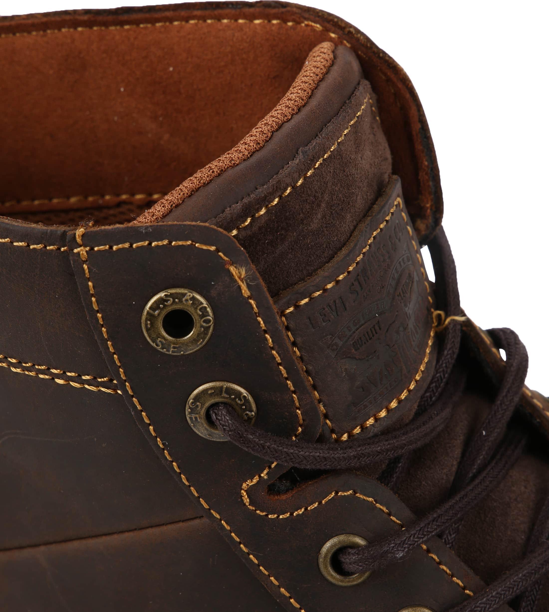 Levi's Jax Plus Boots Donkerbruin foto 1