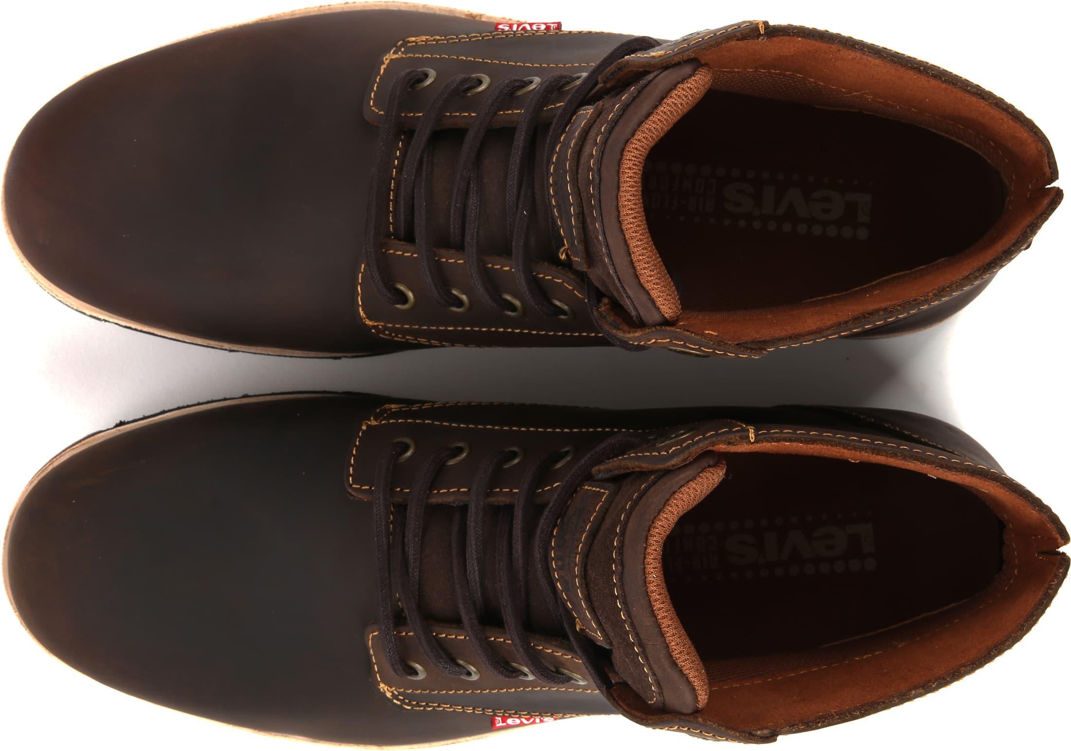Levi's Jax Plus Boots Donkerbruin foto 2