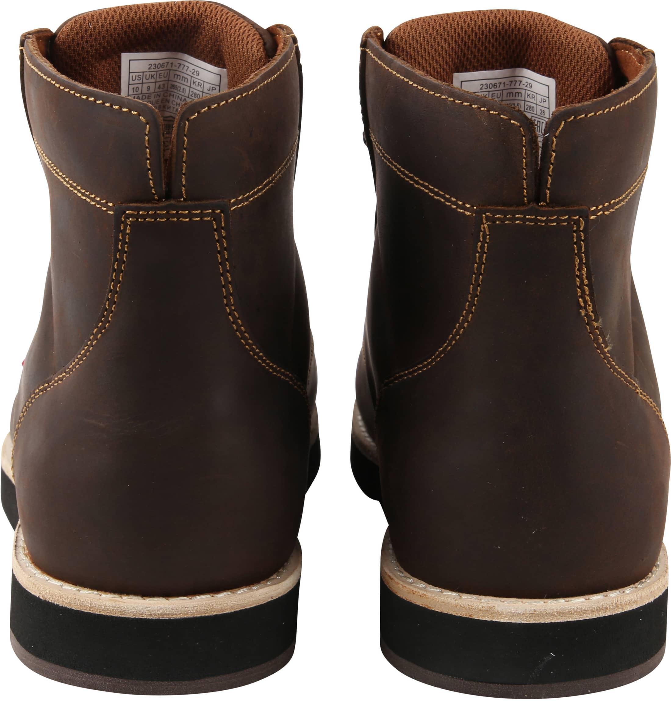 Levi's Jax Plus Boots Donkerbruin foto 3