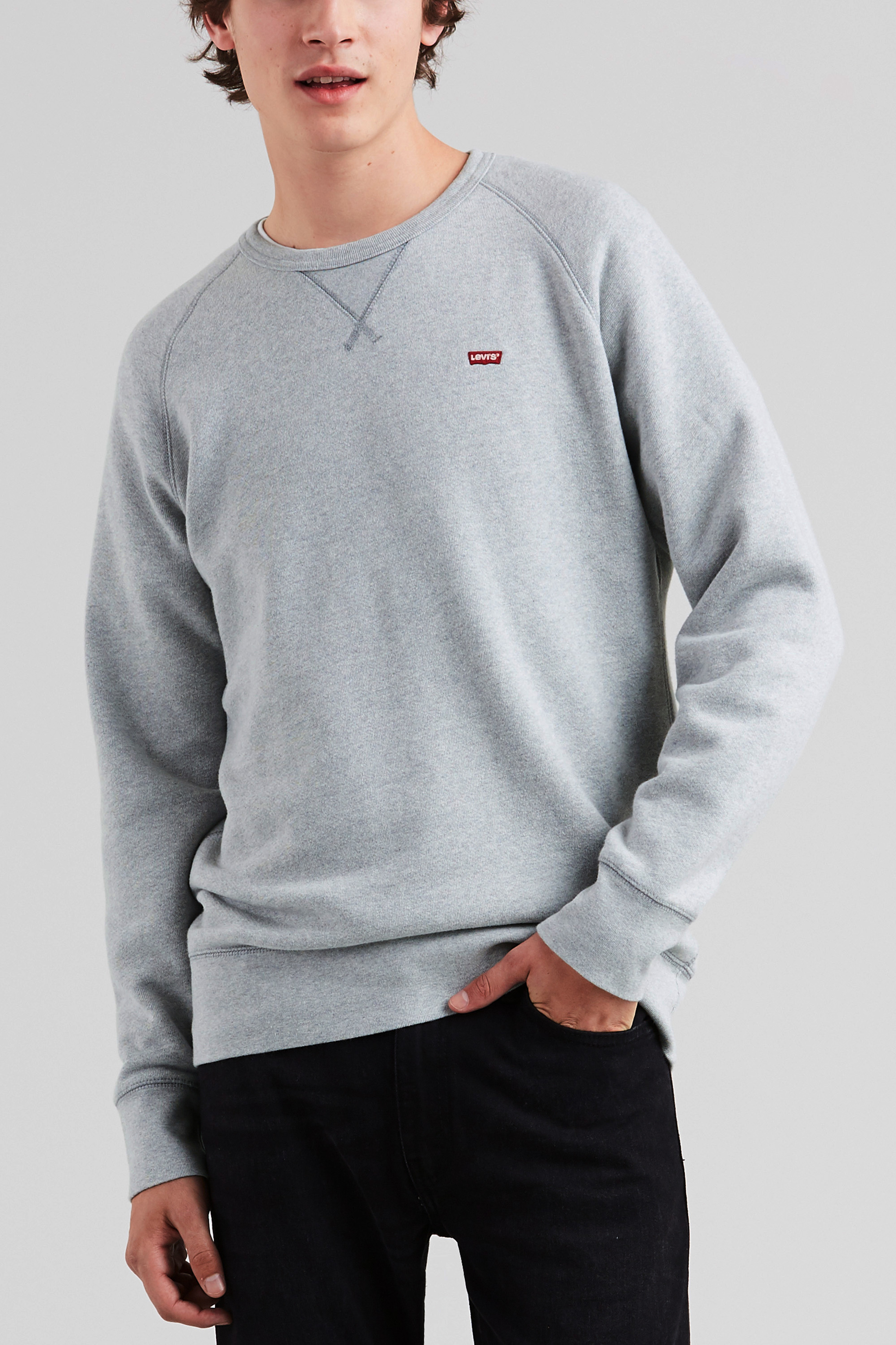 Levi's Original Sweater Grey photo 4