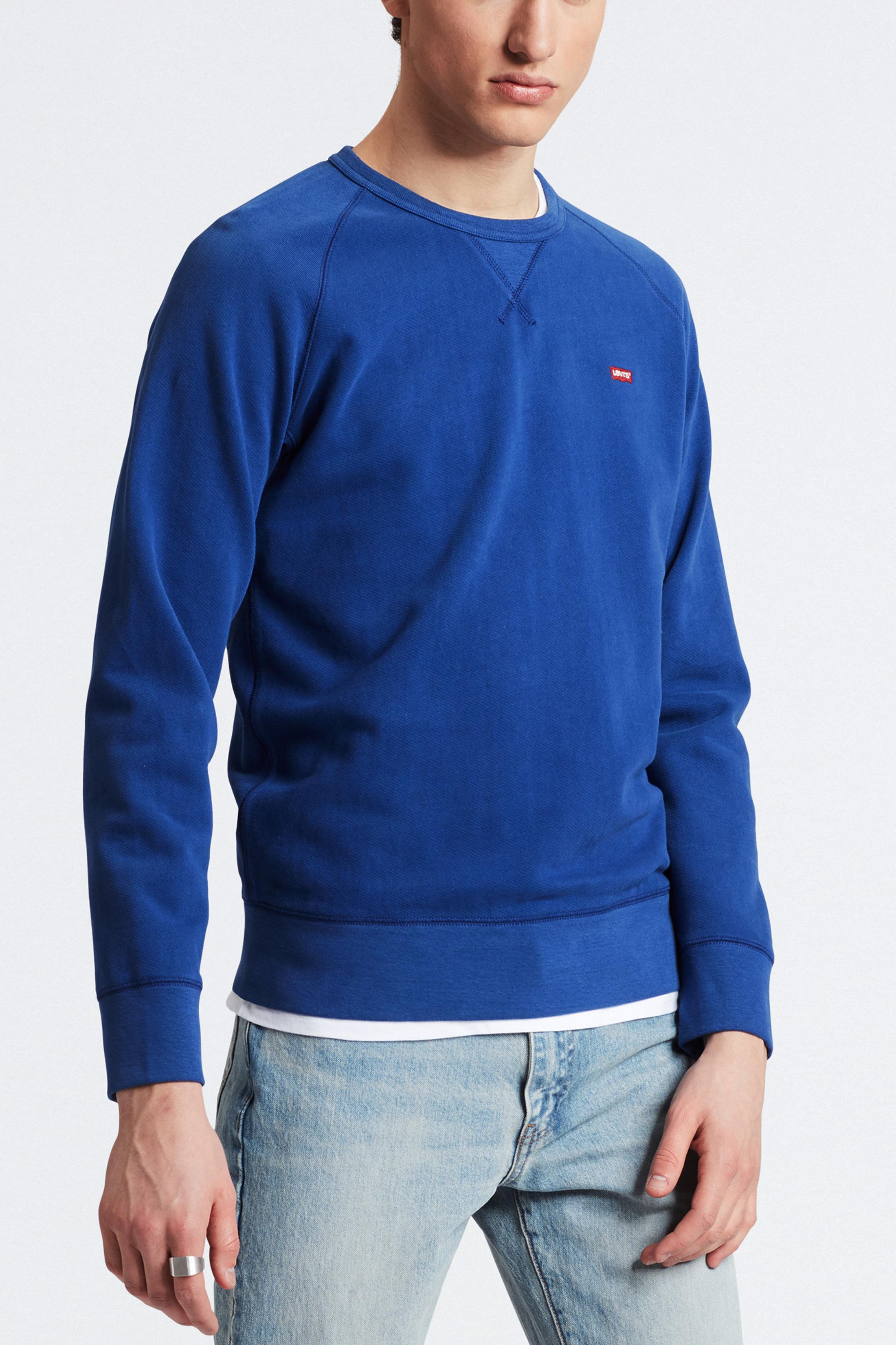 Levi's Original Sweater Indigo Blue photo 4
