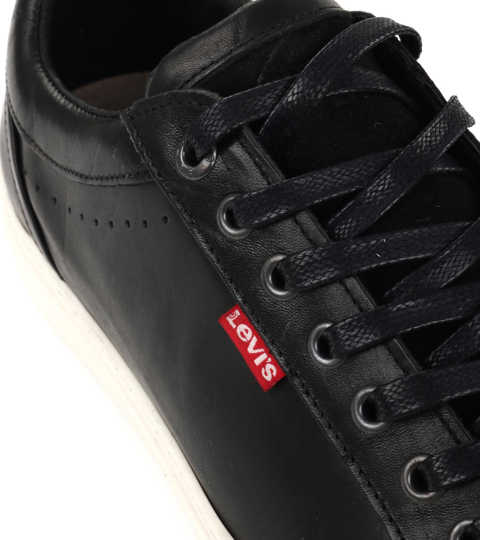 Levi's Sneaker Perris Derby Zwart foto 1