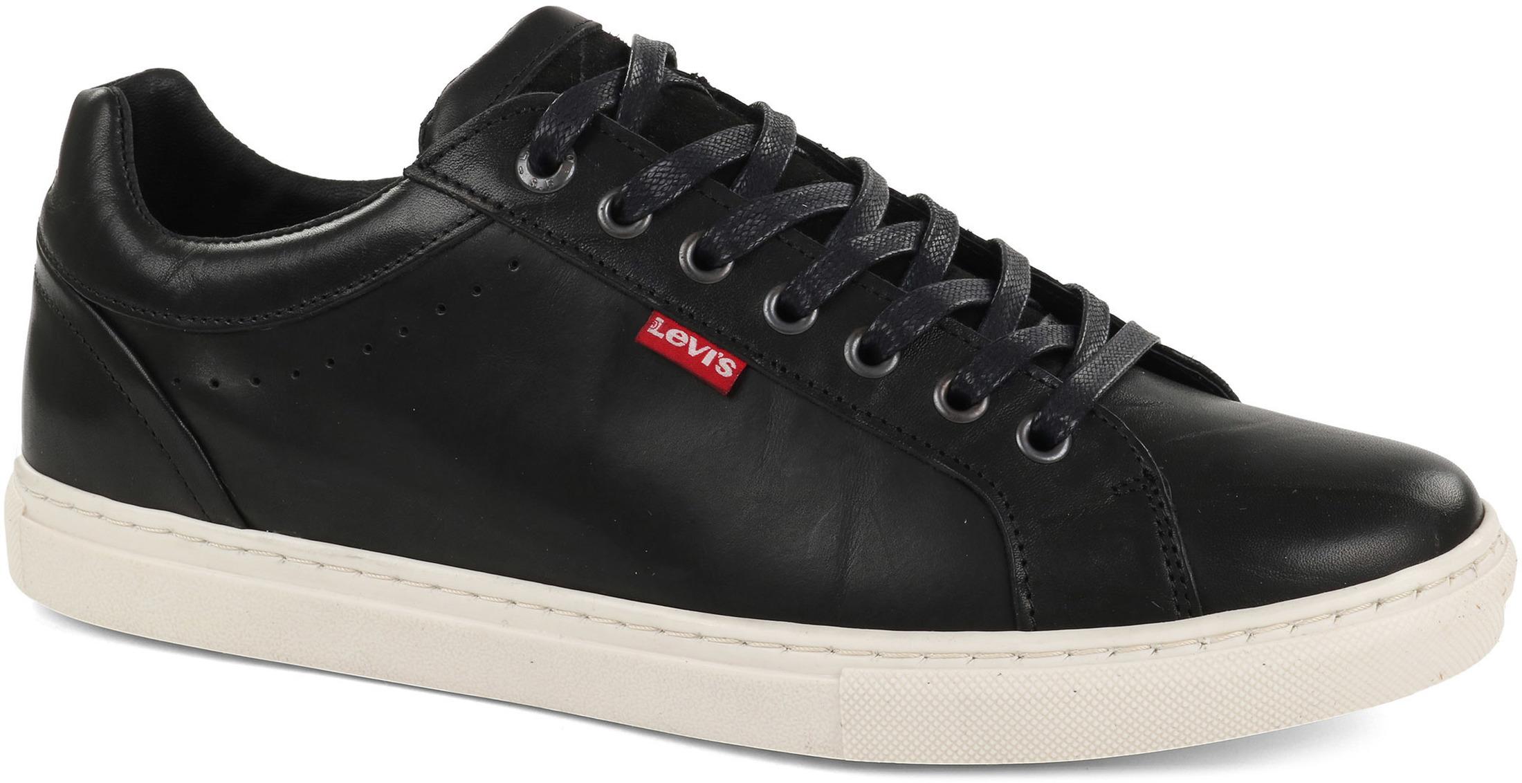 Levi's Sneaker Perris Derby Zwart foto 0
