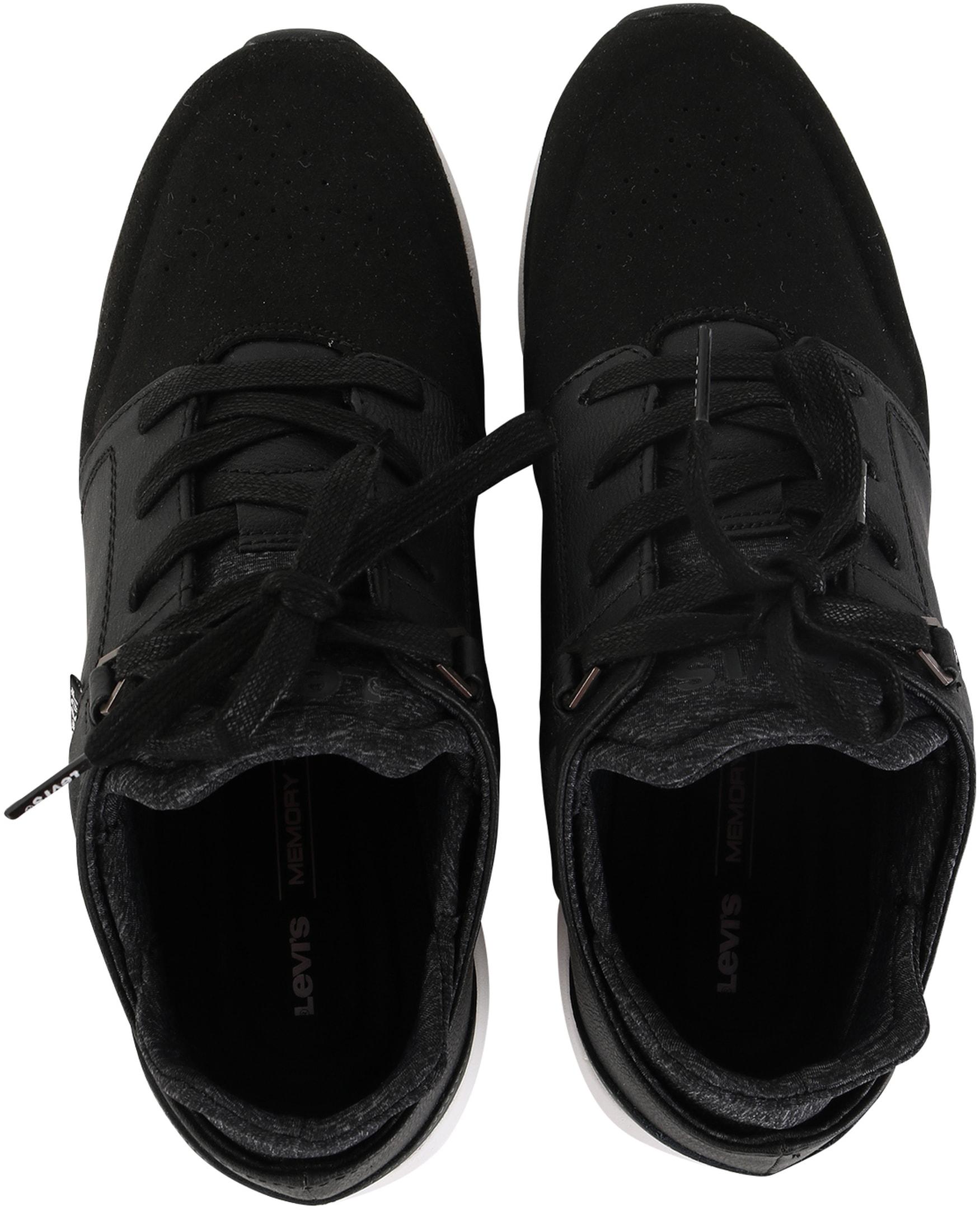 Levi's Sneaker Runner Zwart foto 3