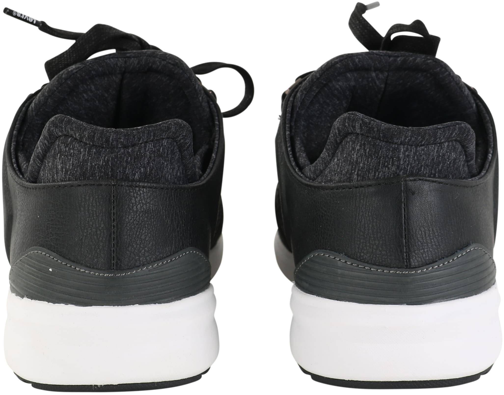 Levi's Sneaker Runner Zwart foto 4