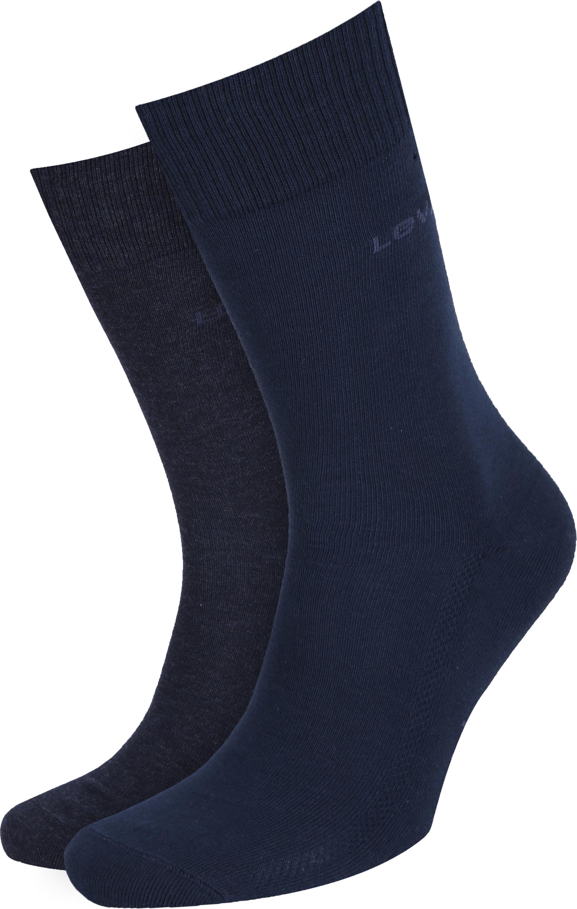 Levi's Socken Baumwolle 2-Pack Navy 321
