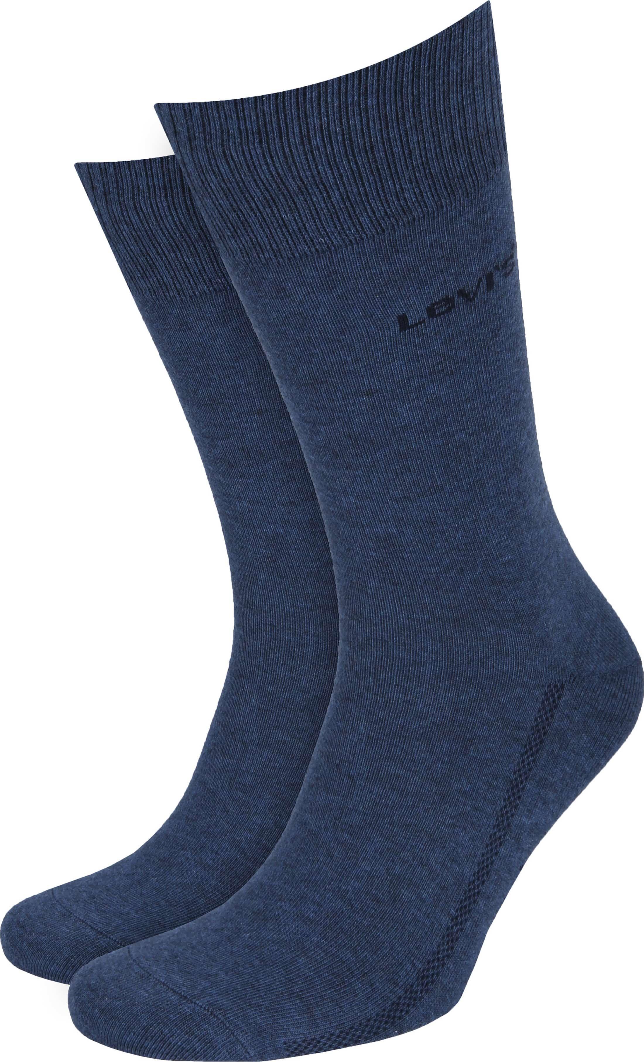 Levi's Sokken 2-Pack Blauw 460