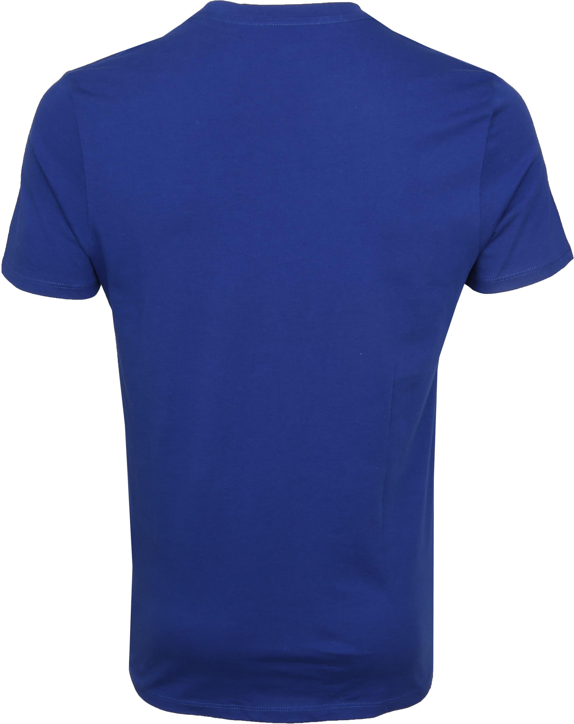 Levi's T-shirt Boxtab Blauw foto 2
