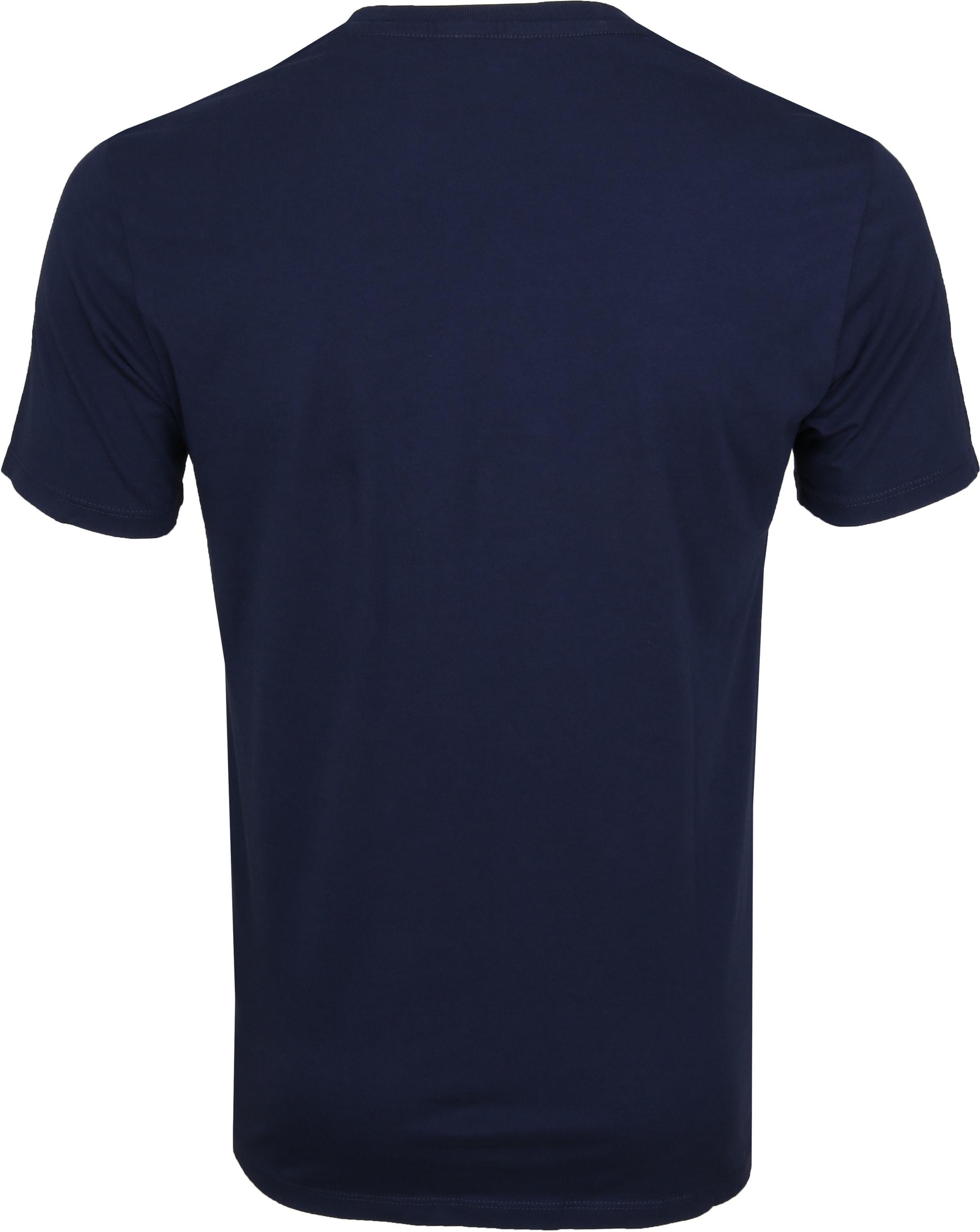 Levi's T-shirt Classic Logo Navy foto 2