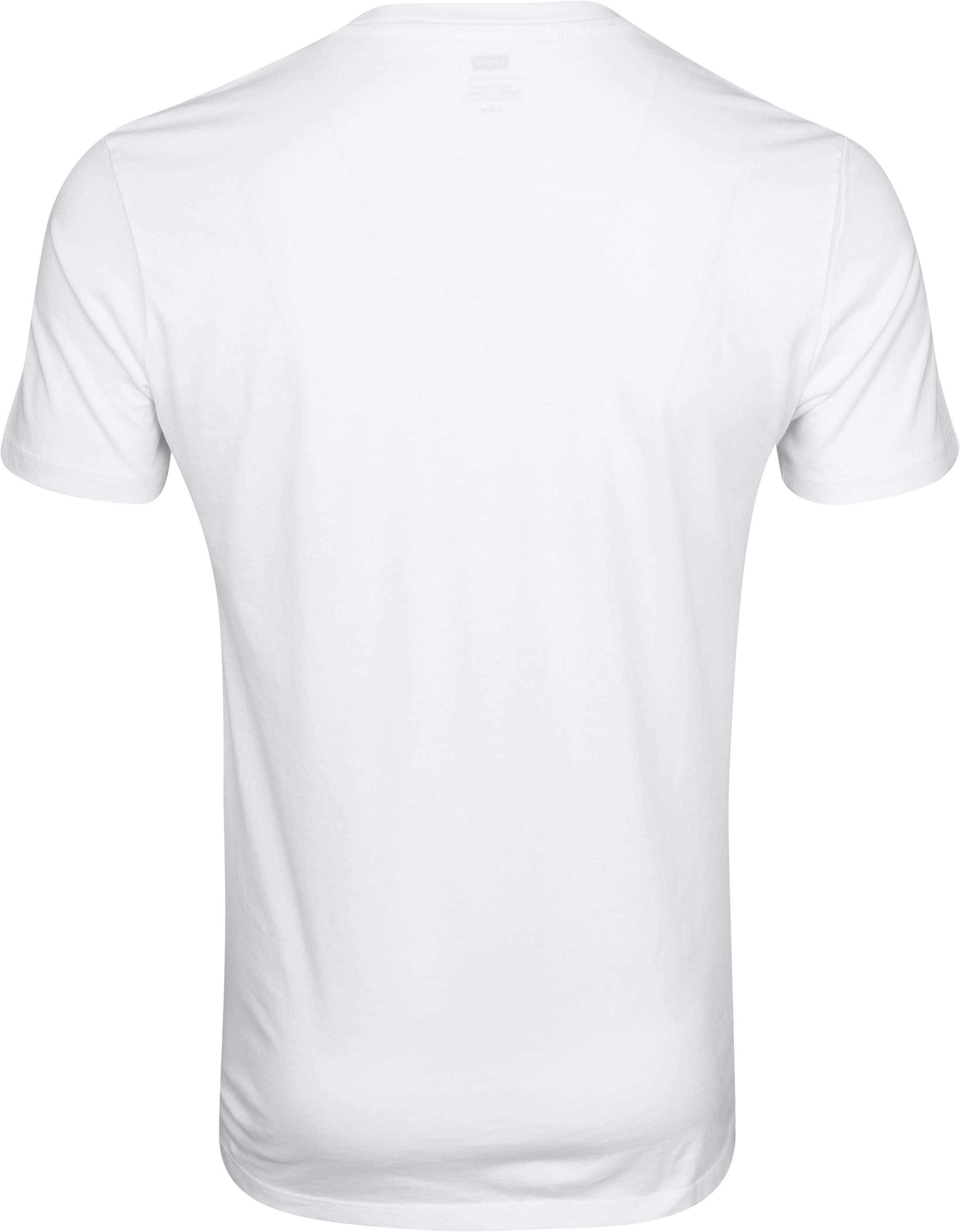 Levi's T-shirt Classic Logo Wit foto 2