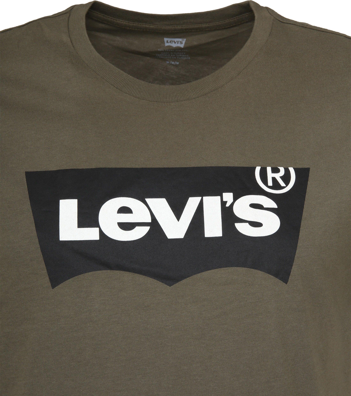 Levi's T-shirt Green Logo foto 1