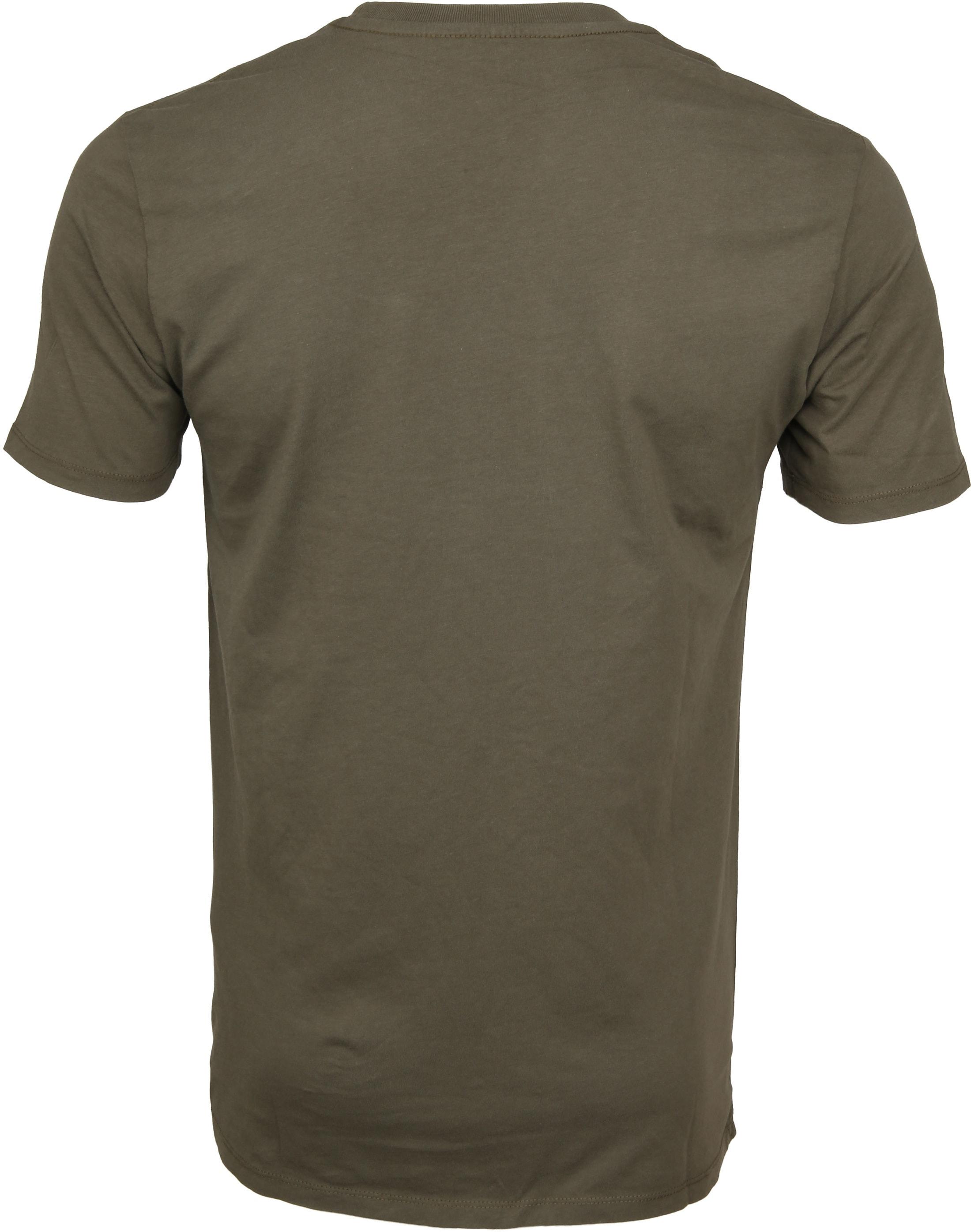 Levi's T-shirt Green Logo foto 2