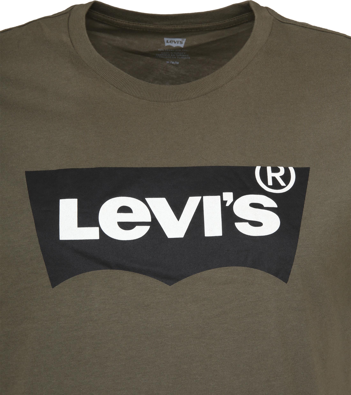 Levi's T-shirt Groen Logo foto 1