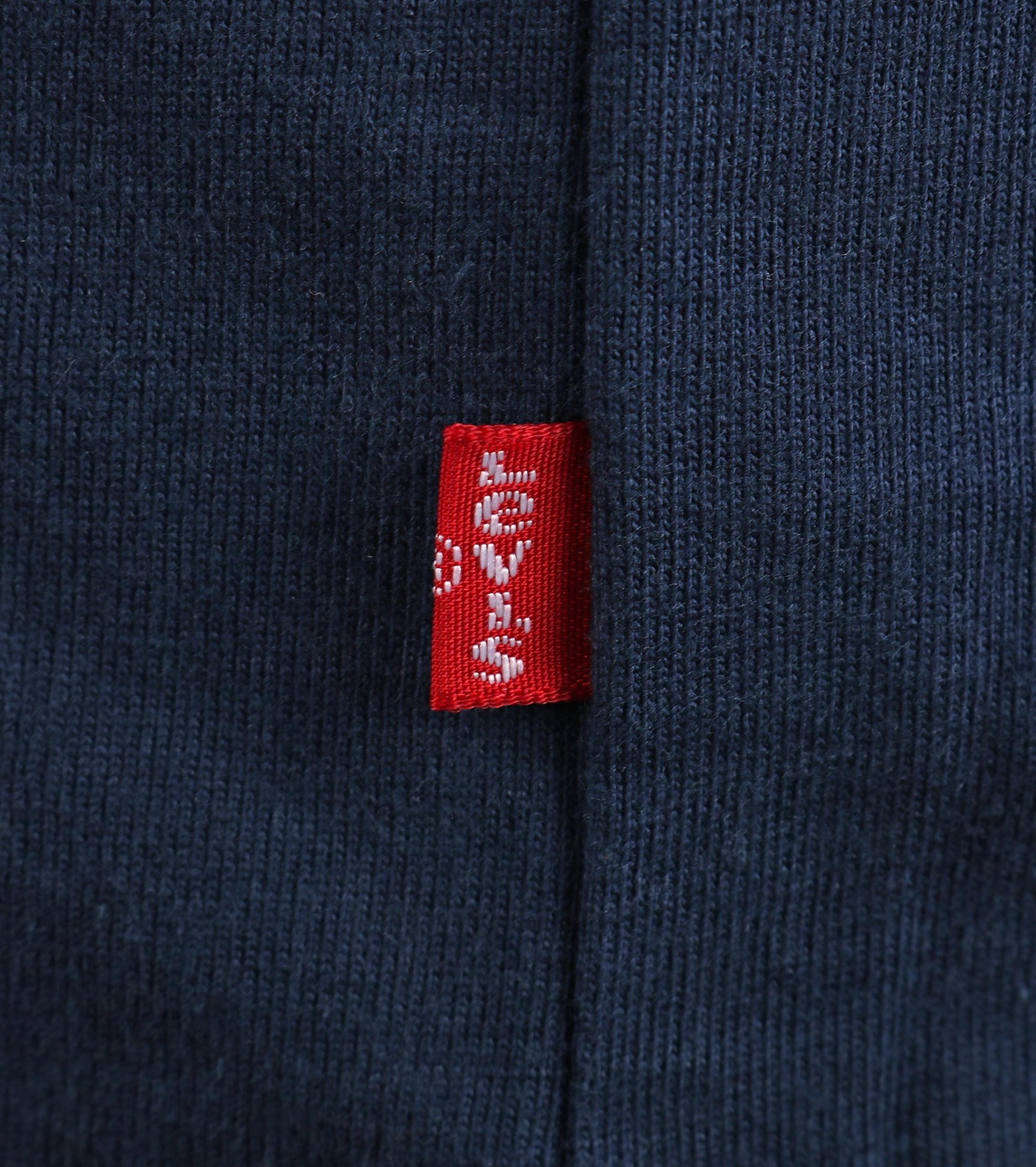 Levi's T-shirt Logo Donkerblauw foto 2