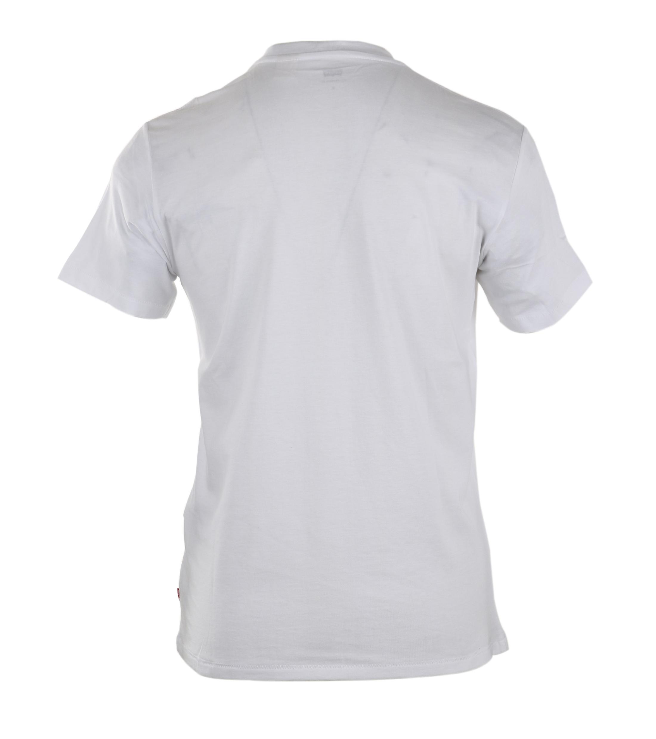 Levi's T-shirt Logo Wit foto 1