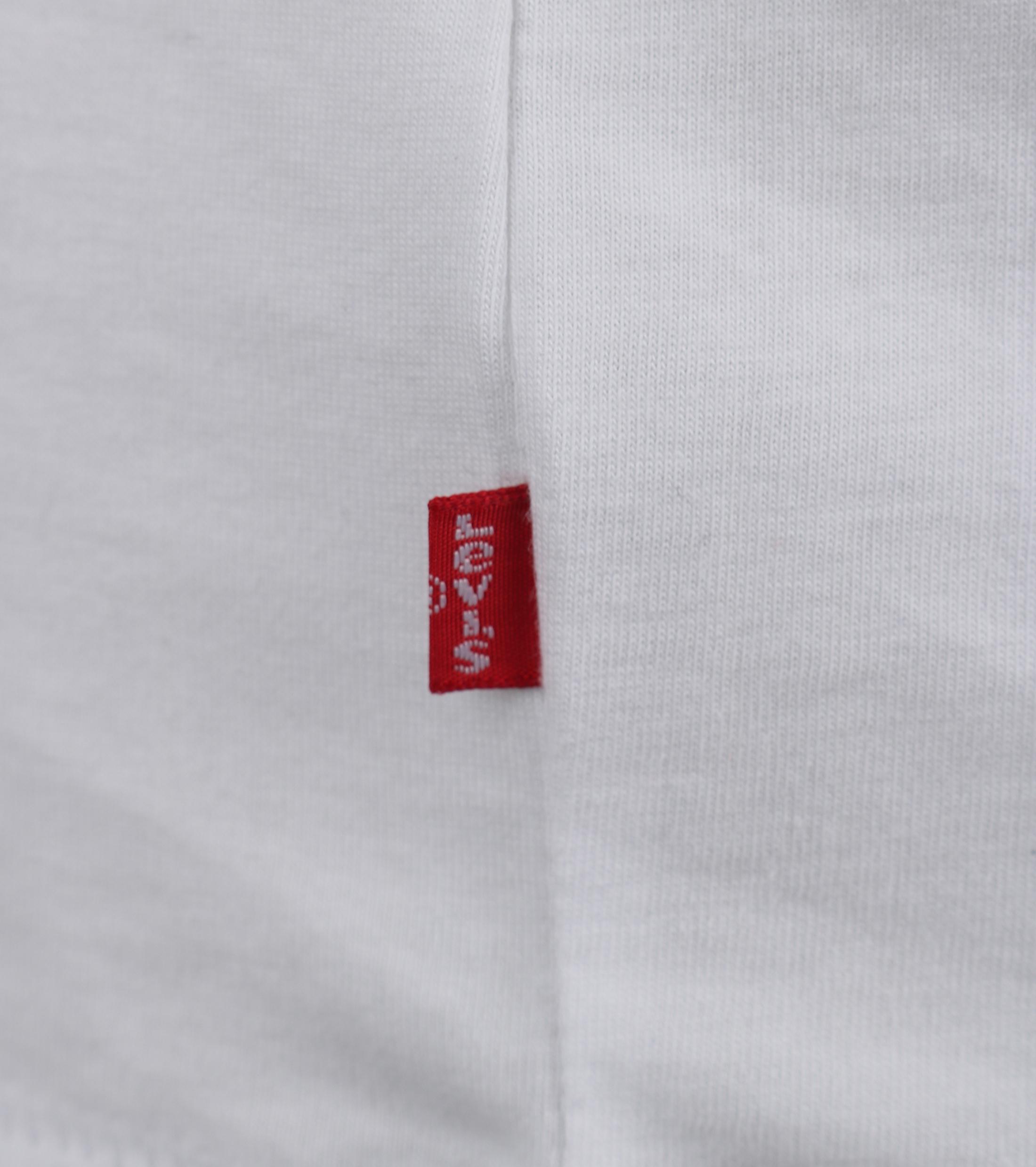 Levi's T-shirt Logo Wit foto 2