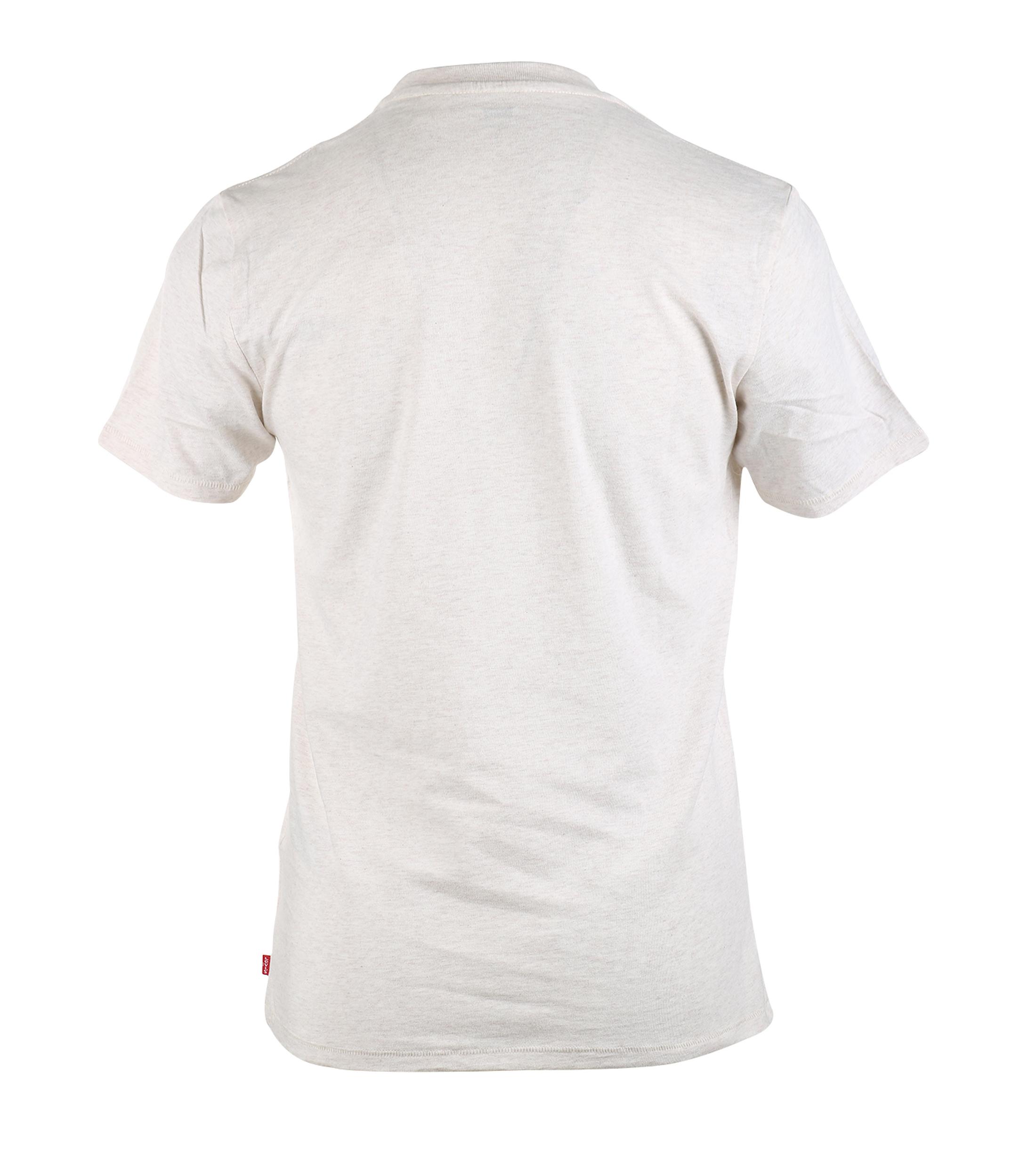 Levi's T-shirt met Logo Beige foto 1