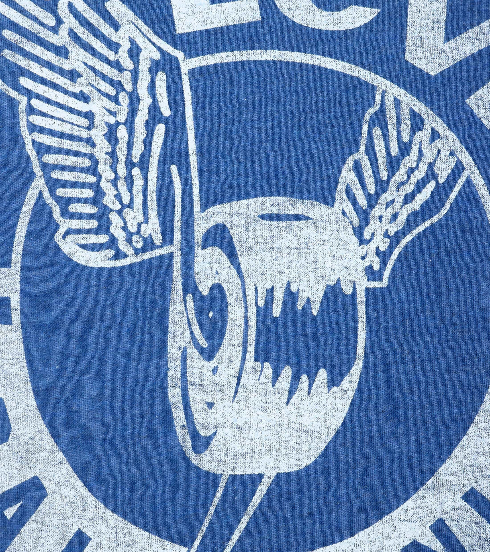 Levi's T-shirt Print Blauw foto 1