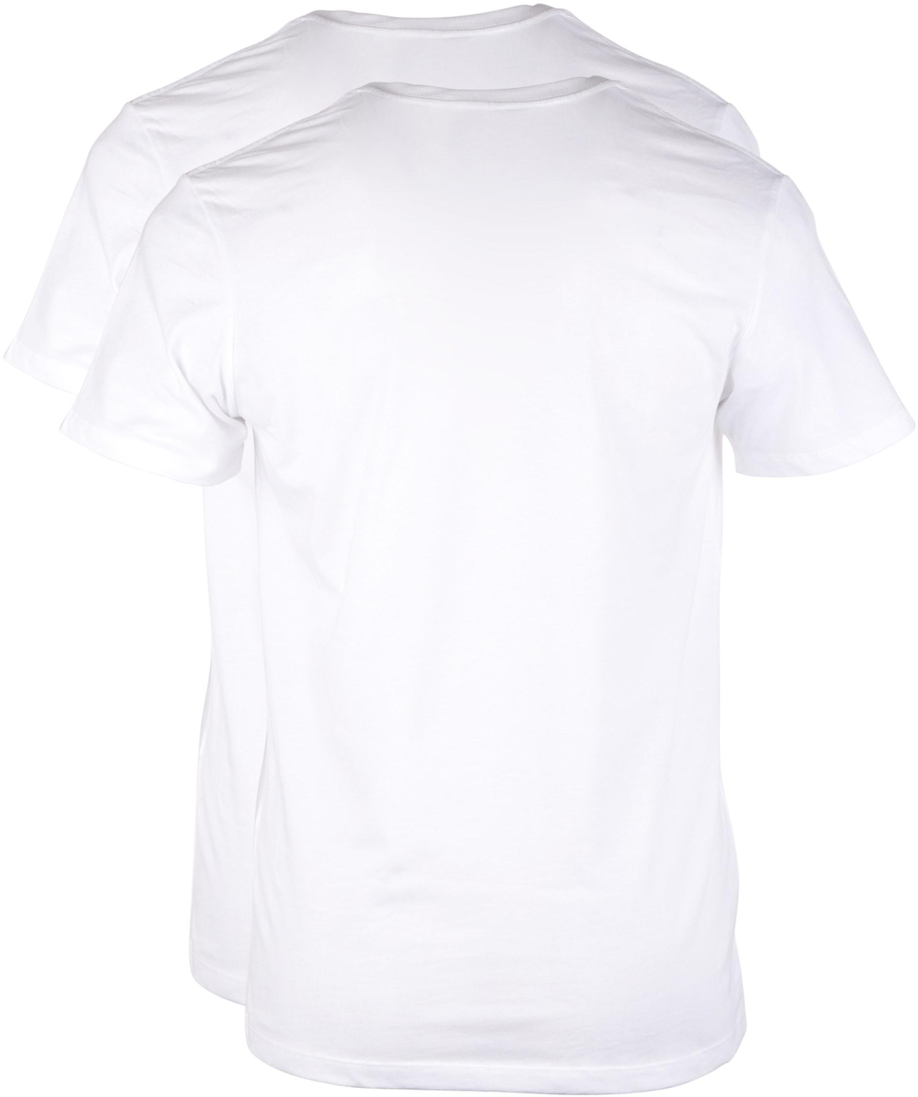 Levi's T-shirt Ronde Hals Wit 2Pack foto 1