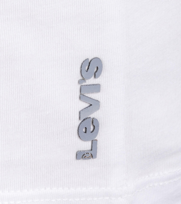 Levi's T-shirt Ronde Hals Wit 2Pack foto 2