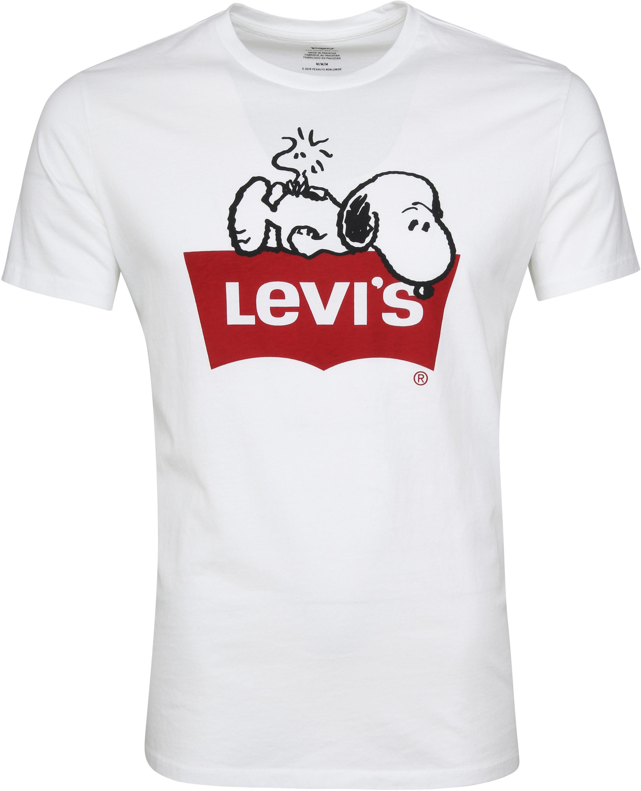 6d7ddc994 Levi's T-shirt Snoopy White 22491-0512 order online | Suitable