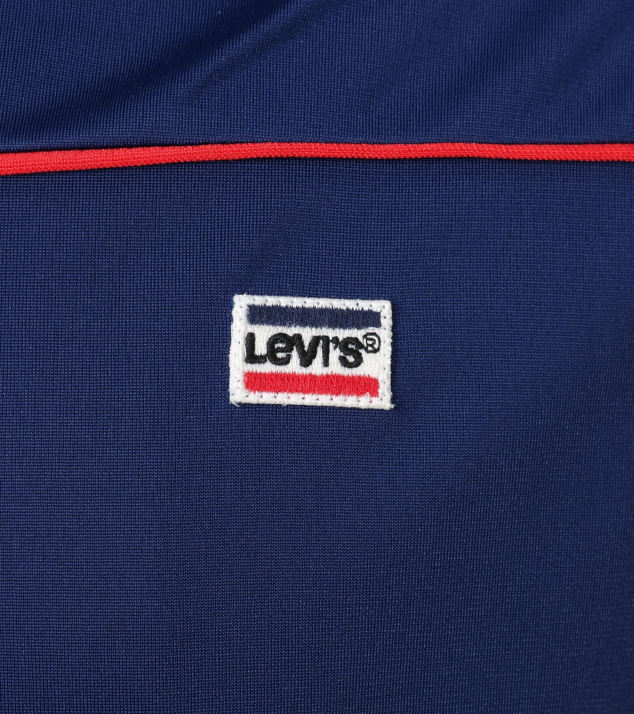Levi's Trainingsjacke Dunkelblau foto 3