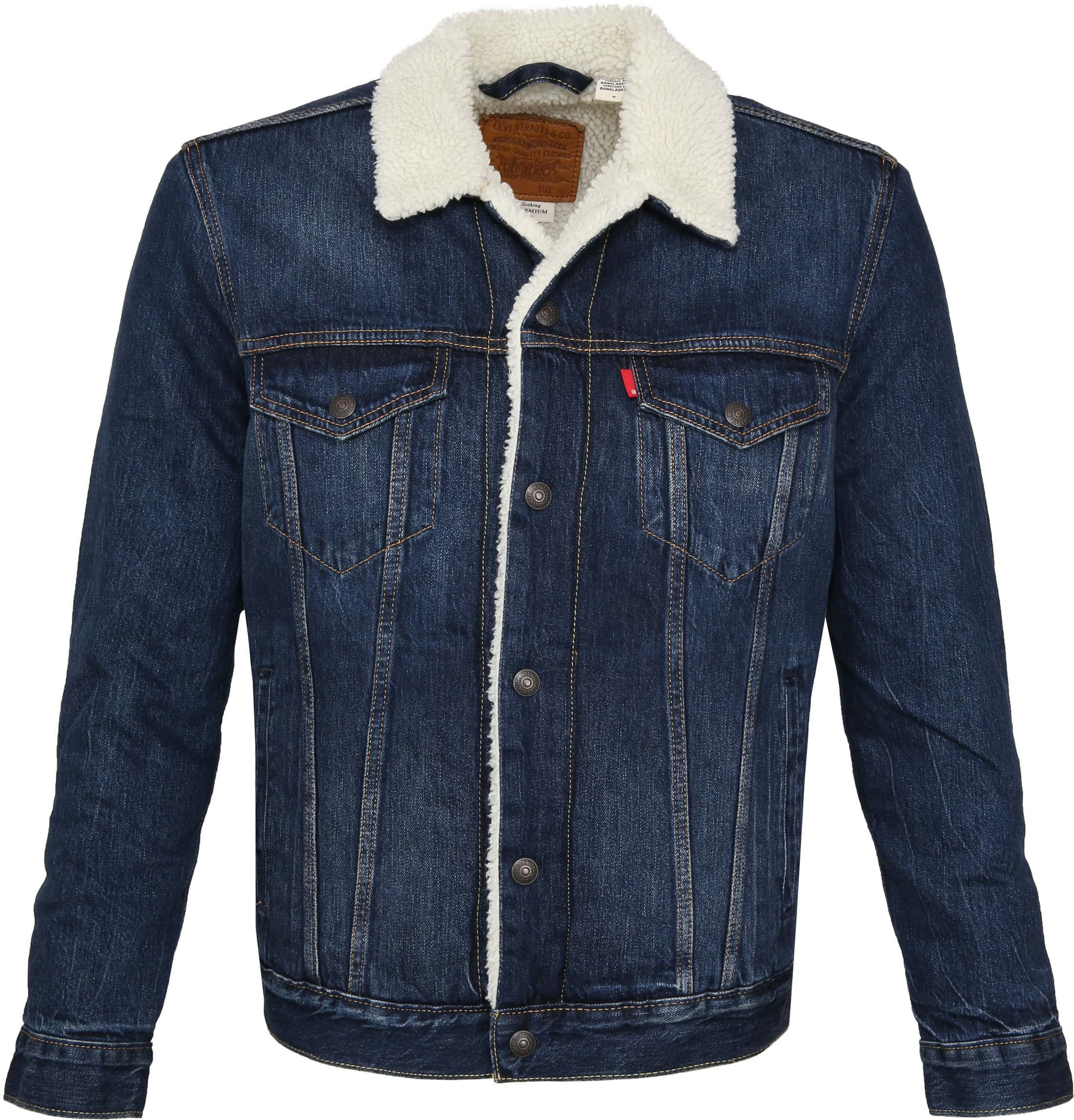 Levi's Trucker Jacket Navy photo 0