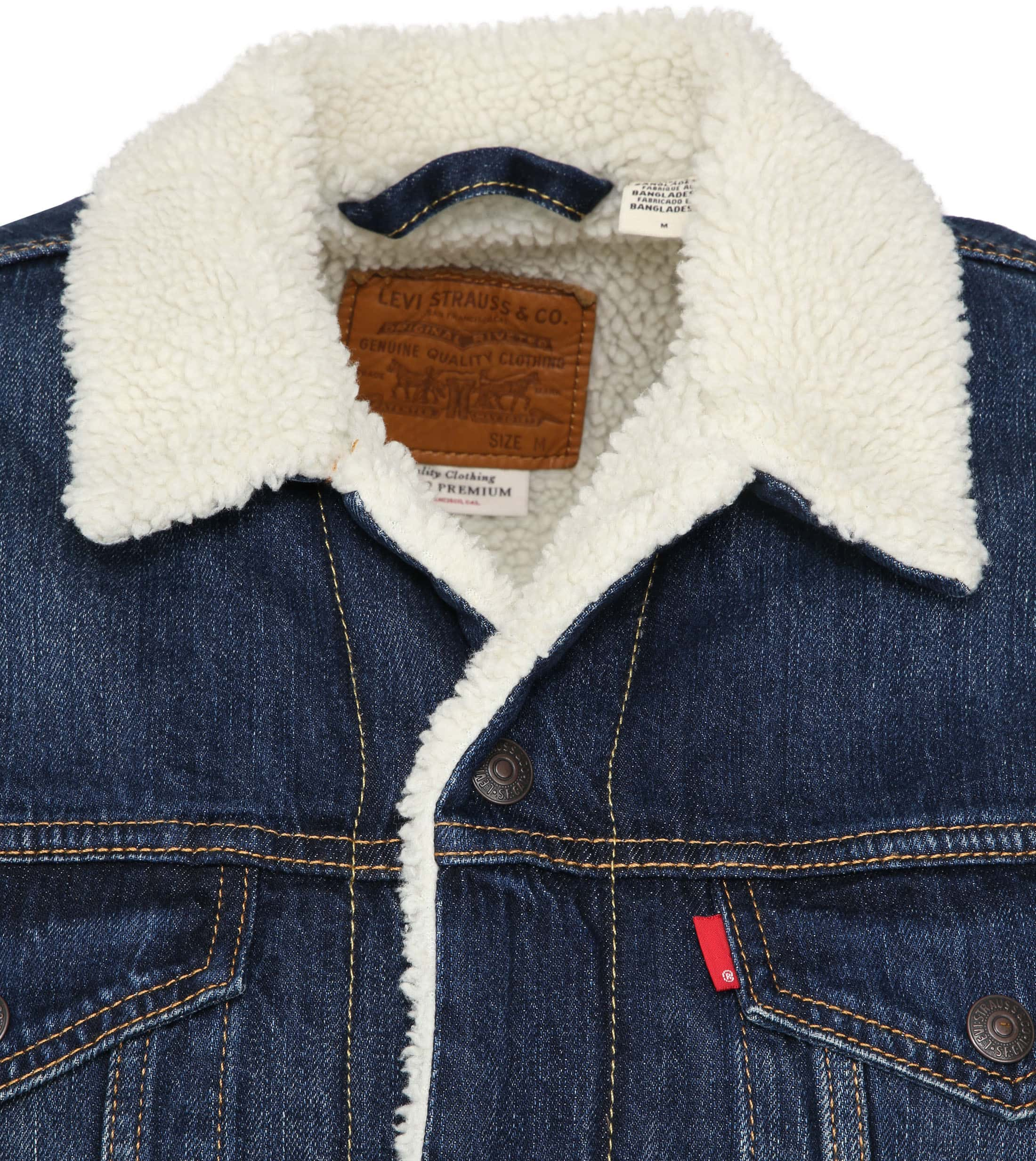 Levi's Trucker Jacket Navy photo 1