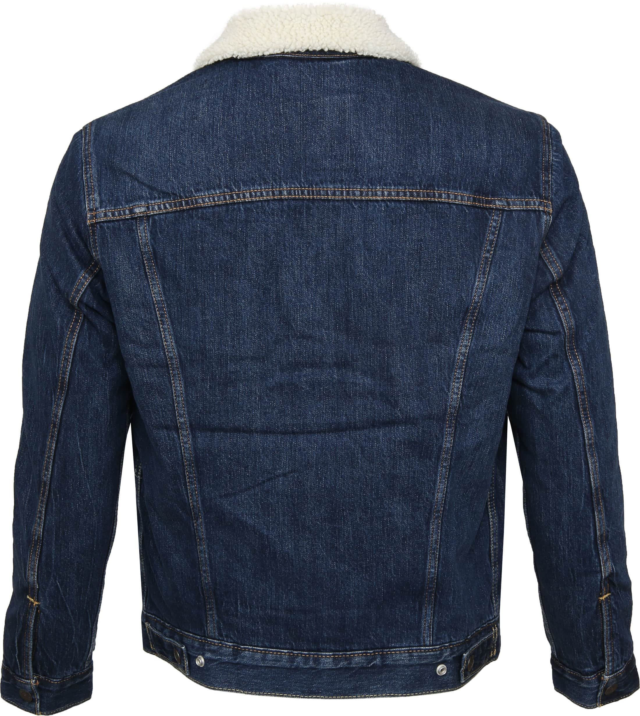 Levi's Trucker Jacket Navy photo 4