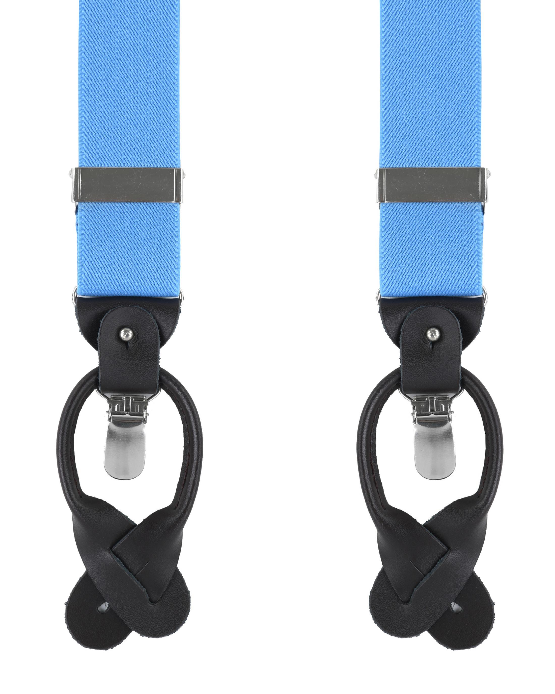 Licht Blauwe Bretels Luxe foto 0