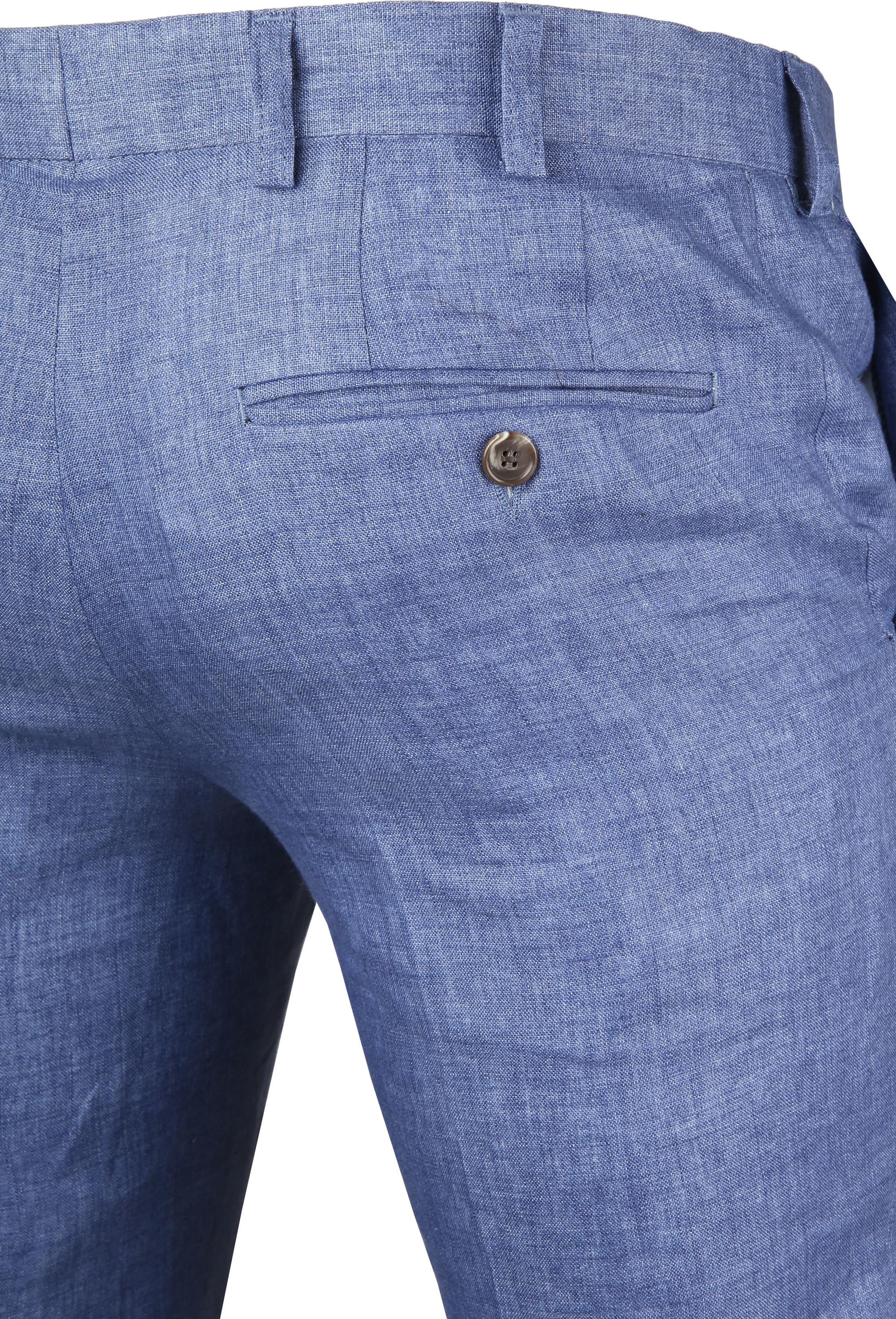 Linnen Pantalon Blauw foto 1