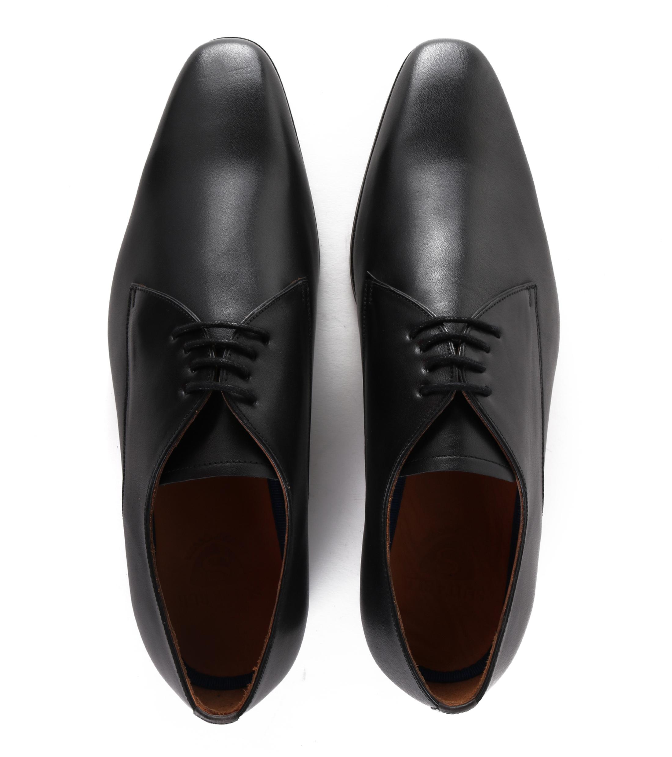 Chaussures Hommes Stbl En Cuir De Luxe Noir 039ySU