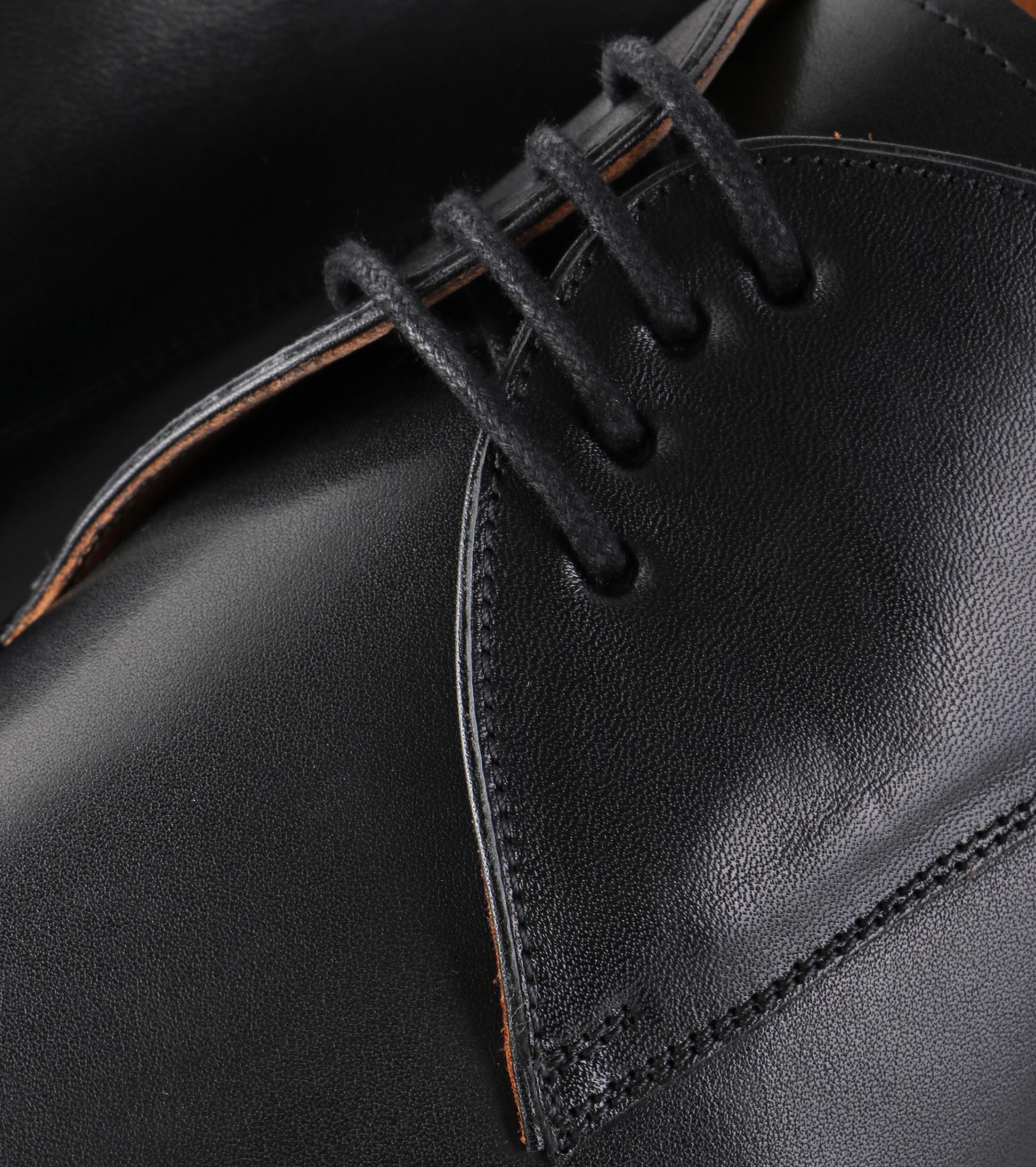 Chaussures Hommes Stbl En Cuir De Luxe Noir sAO9vHgI