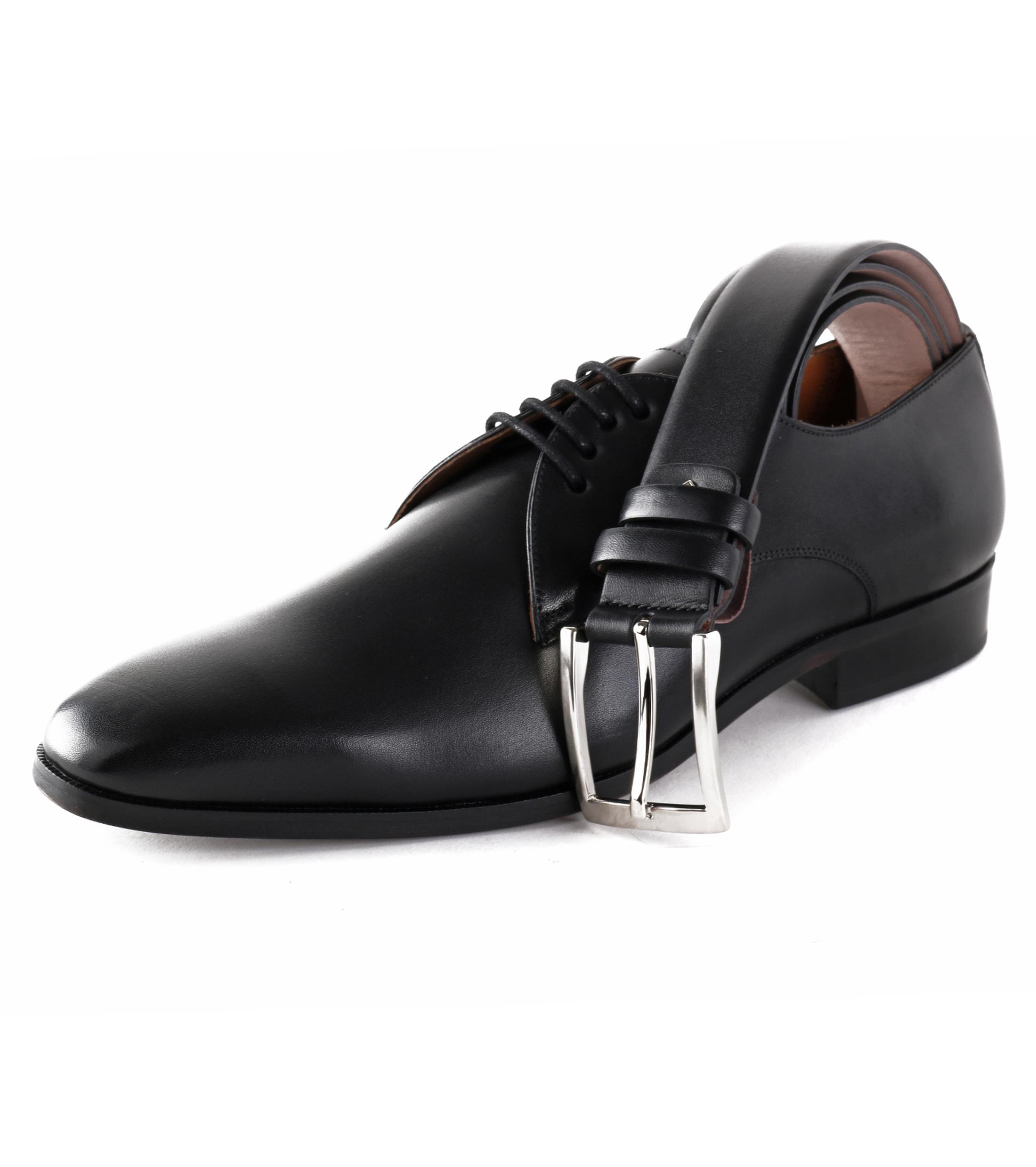 Chaussures Hommes Convenables En Cuir De Luxe Stbl Noir HDs6XrPSj1