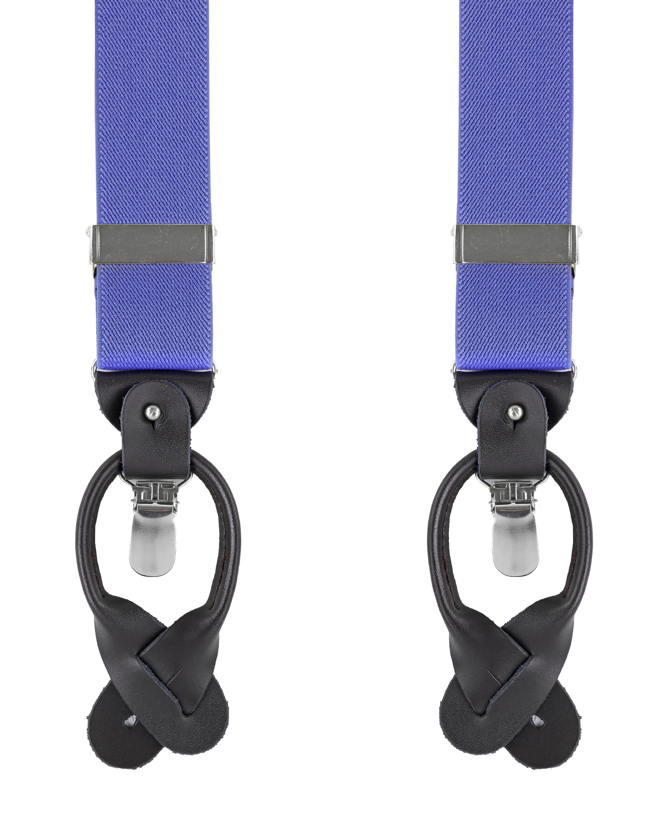 Luxus Hosenträger Violett foto 0