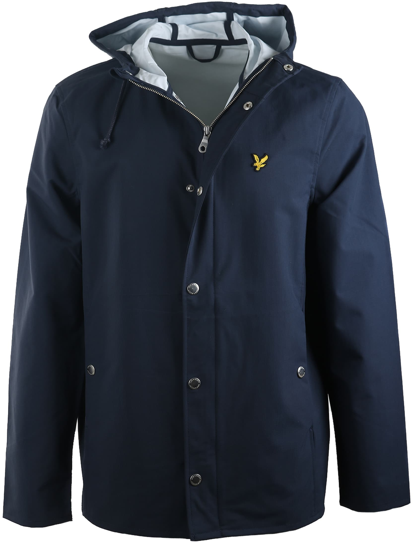 Lyle and Scott Raincoat Donkerblauw foto 0