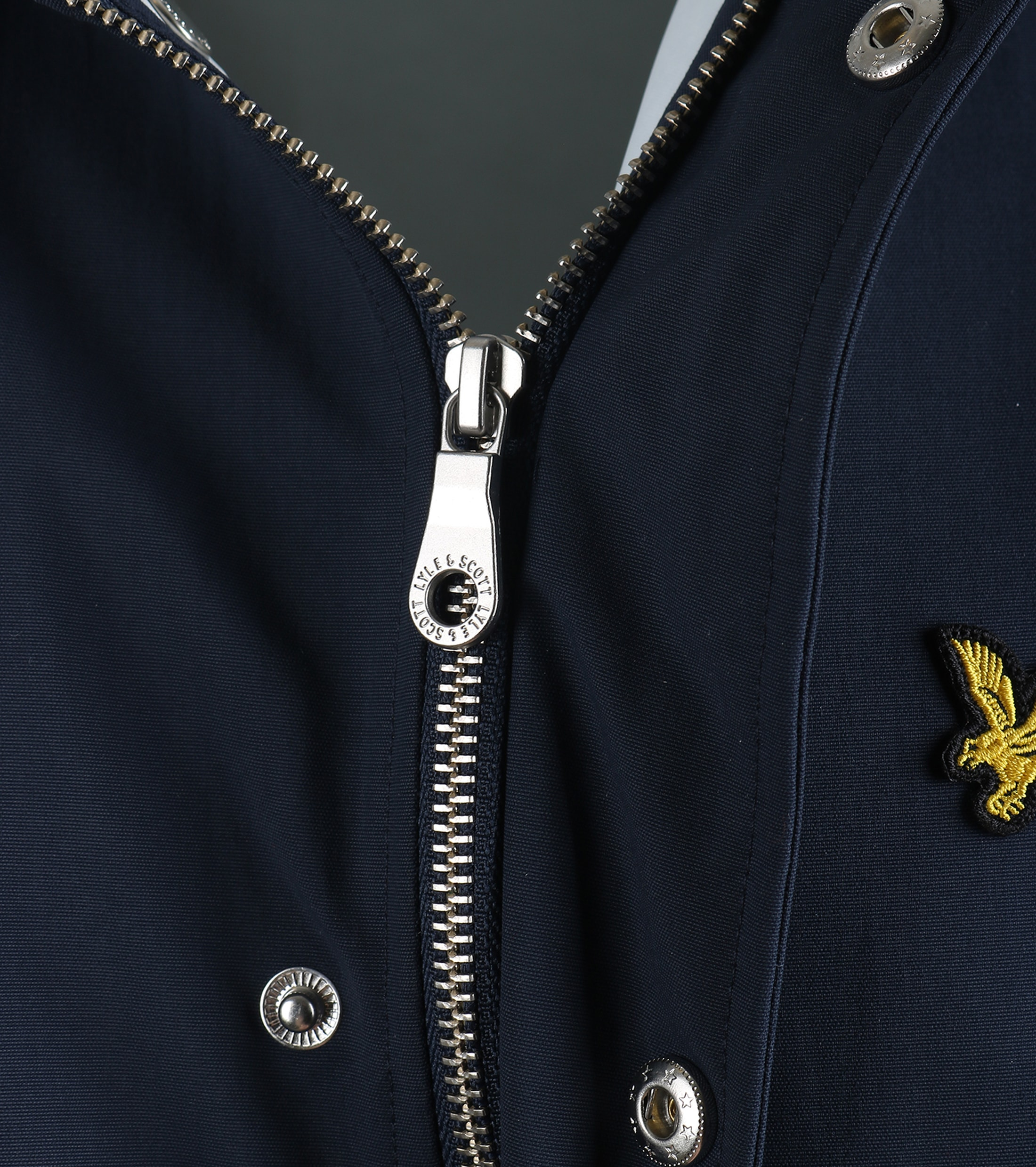 Lyle and Scott Raincoat Donkerblauw foto 3