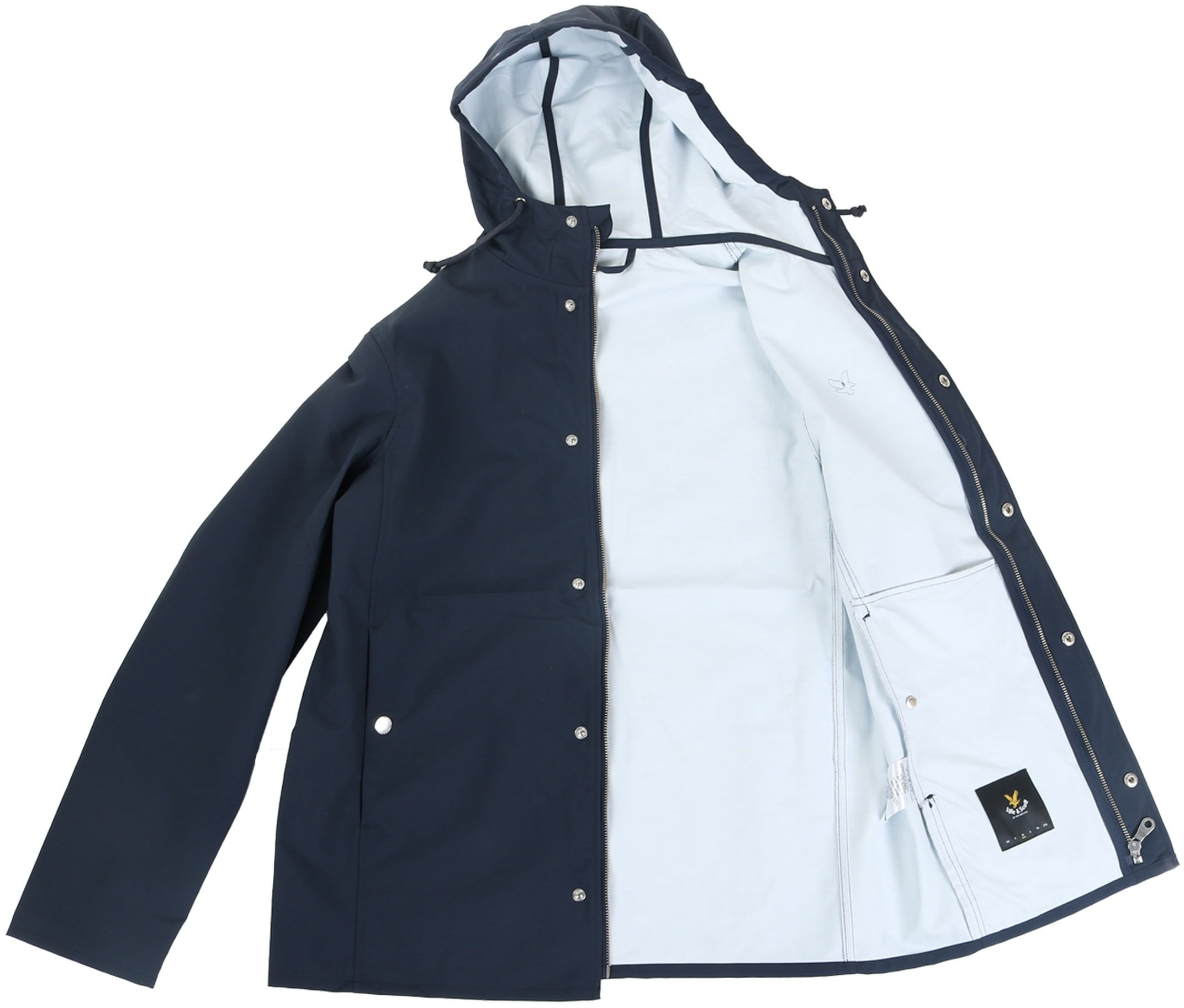 Lyle and Scott Raincoat Donkerblauw foto 5