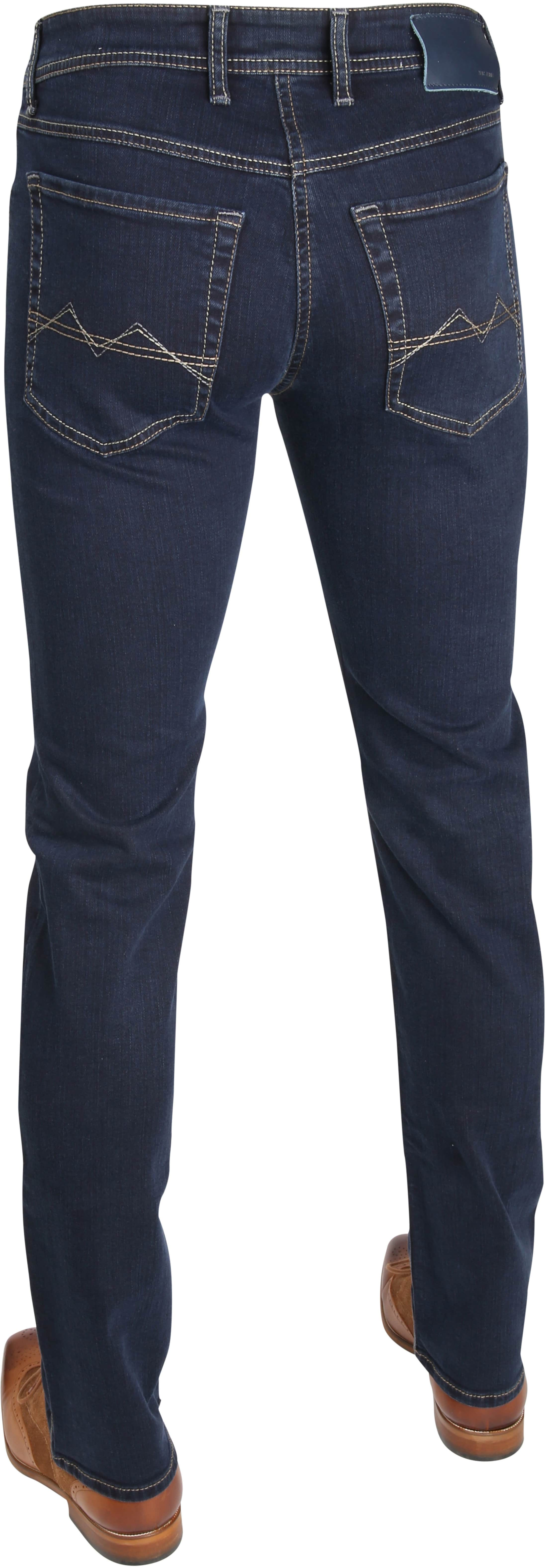 Mac Broek Arne Stretch Blue Black H799 foto 3