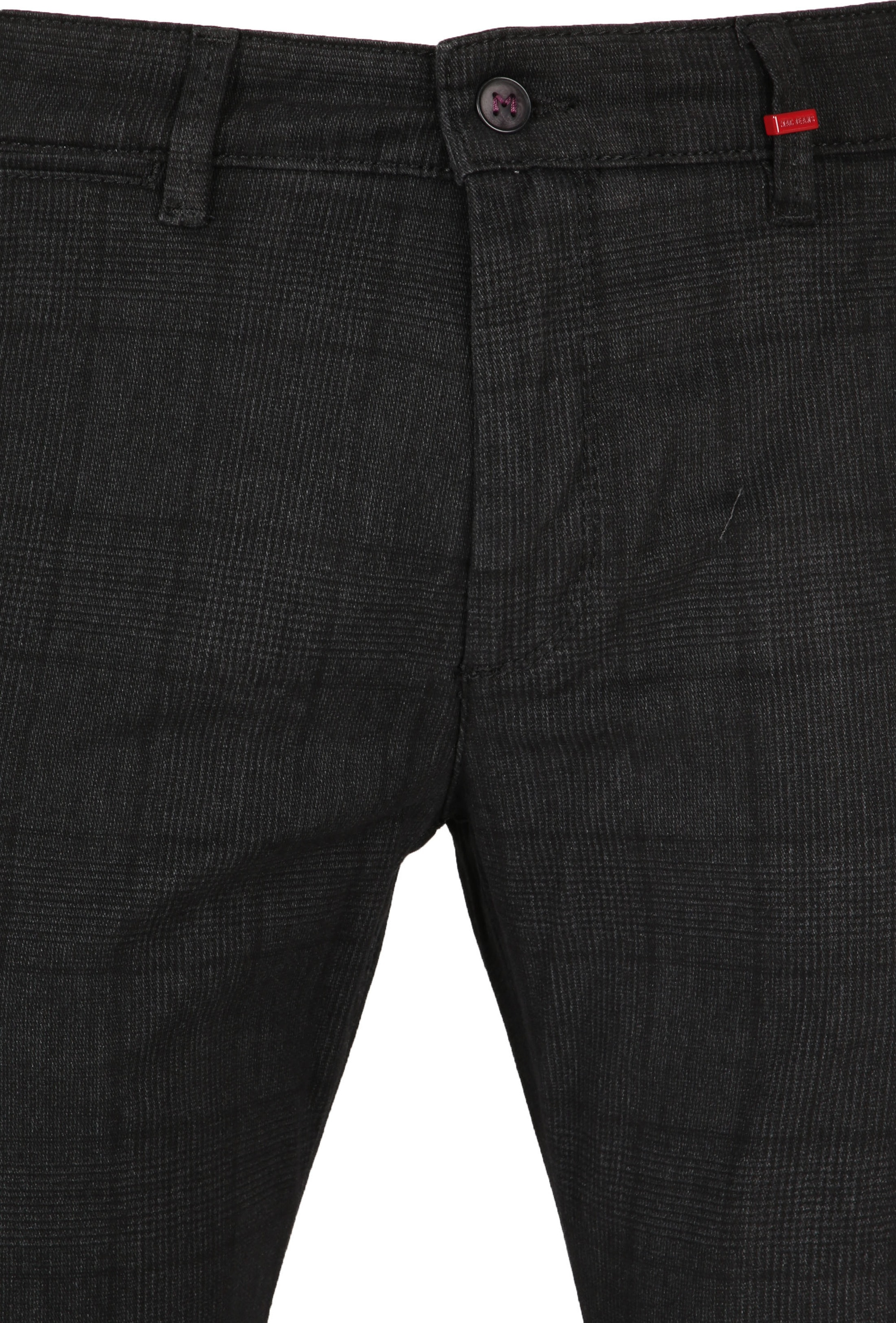 Mac Broek Lennox Dark Grey Pane photo 1