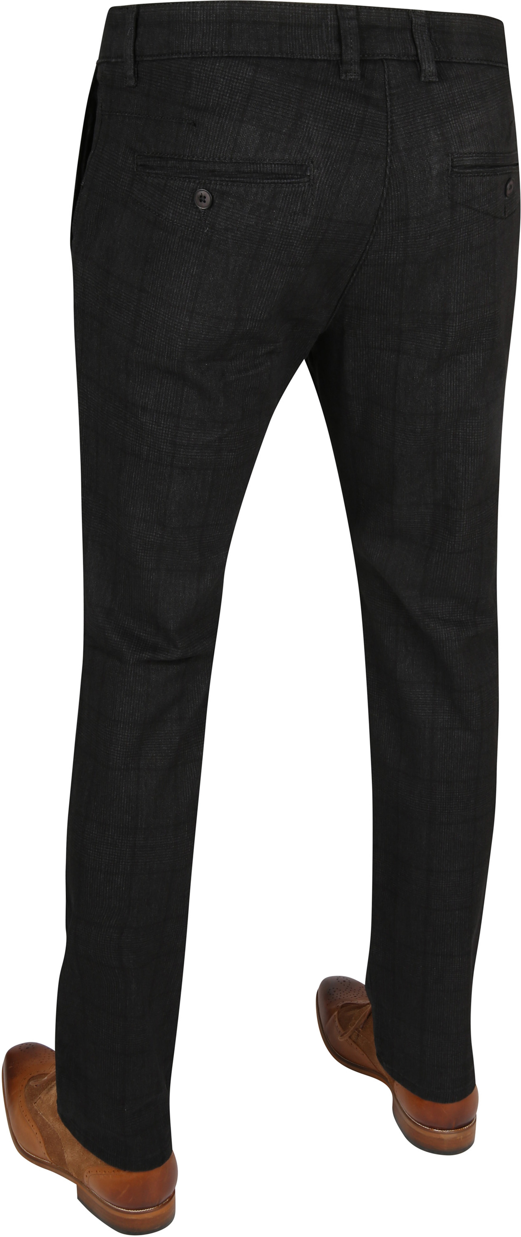 Mac Broek Lennox Dark Grey Pane photo 2