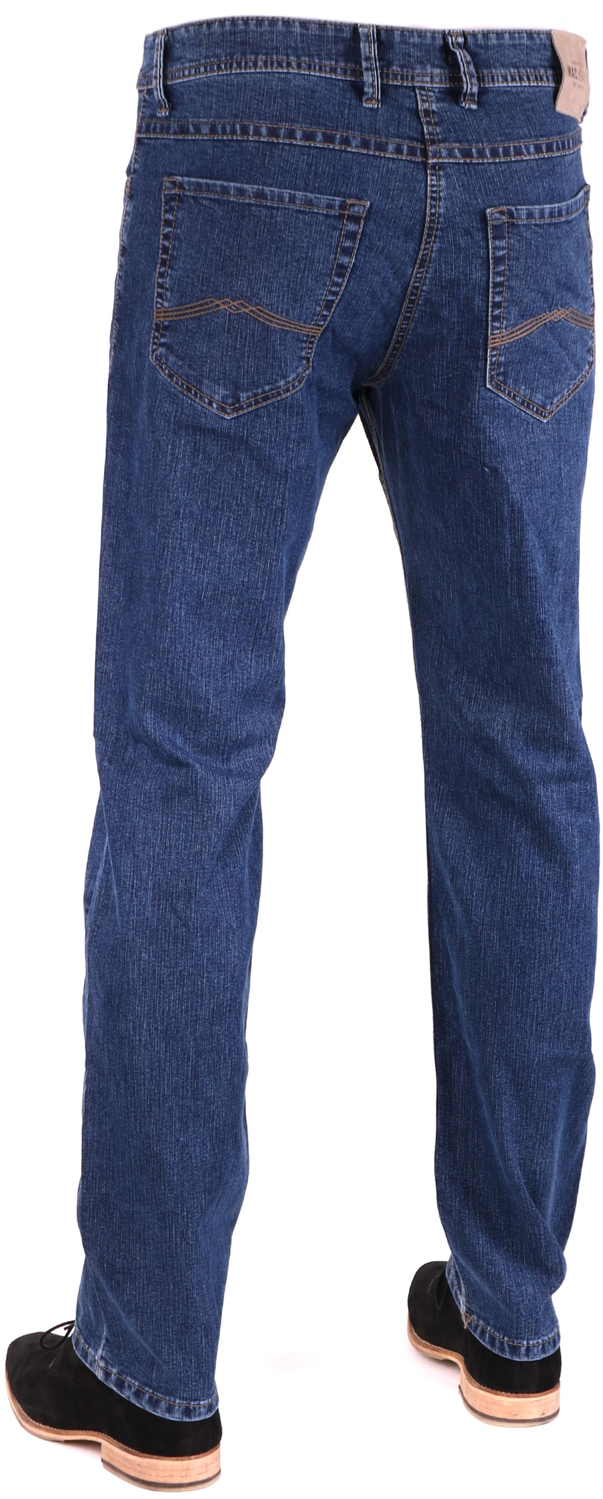 Mac Hose Ben Stretch Stonewash Dark H108 foto 1