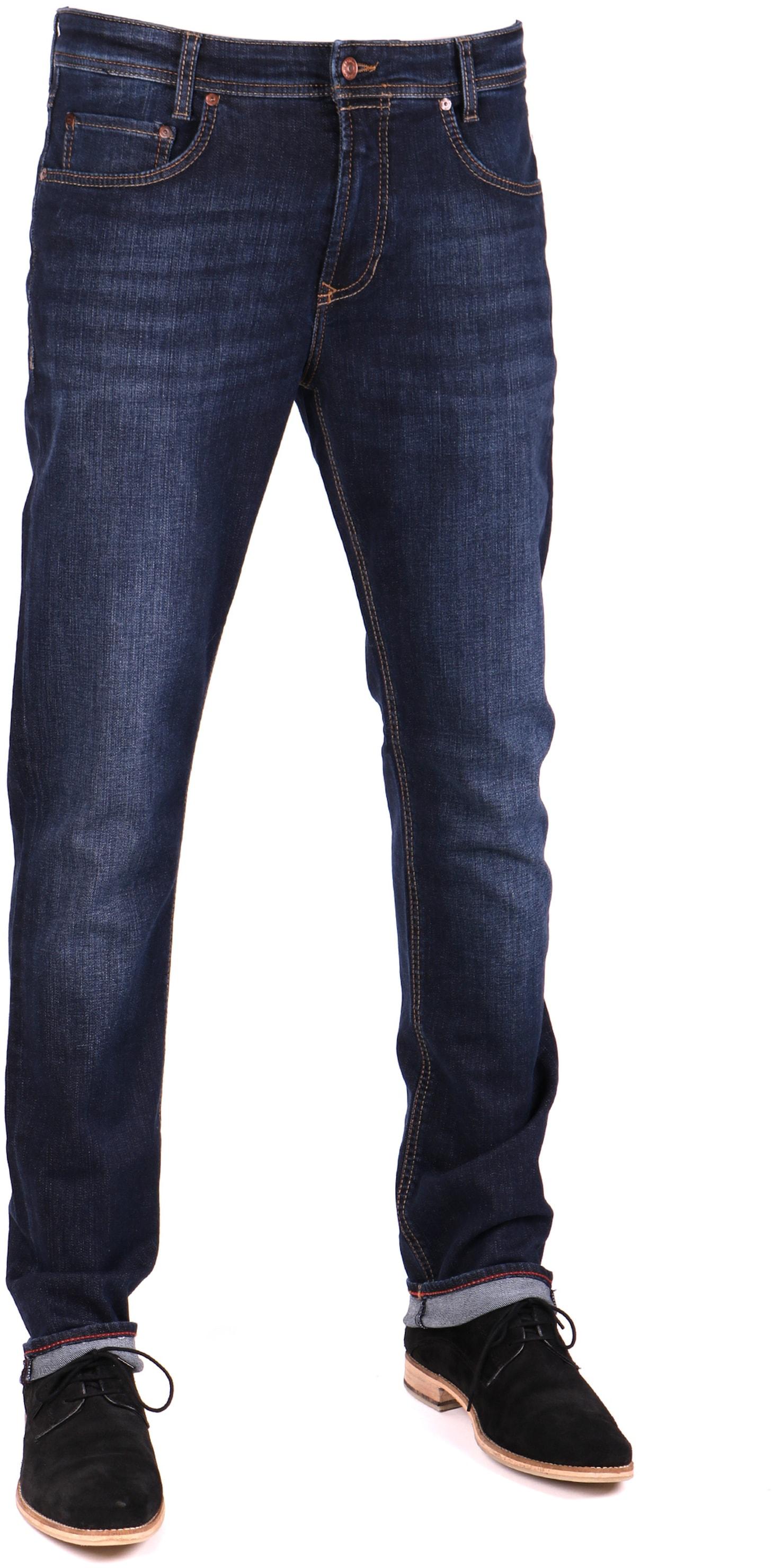 bis zu 80% sparen offiziell beispiellos Mac Jeans Arne Pipe H741 0970L Alpha Denim