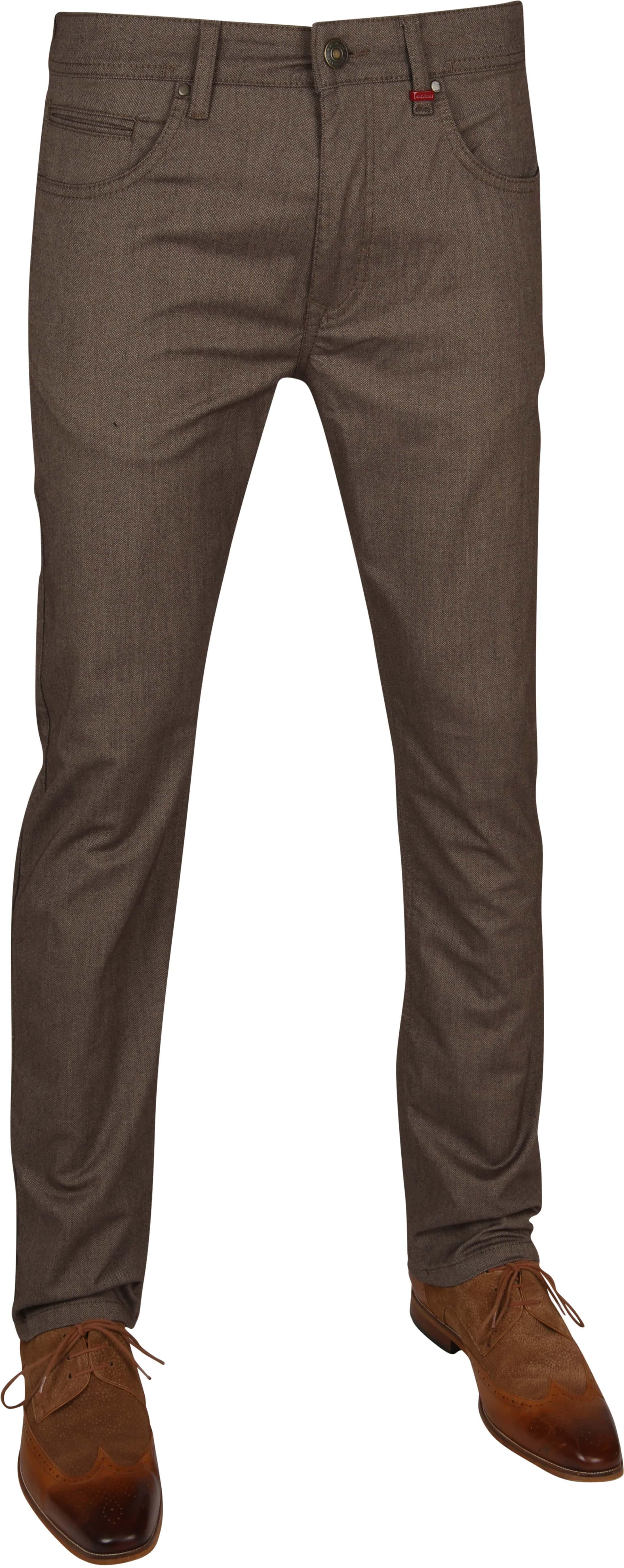 Mac Trousers Arne Pipe Terra Brown foto 0