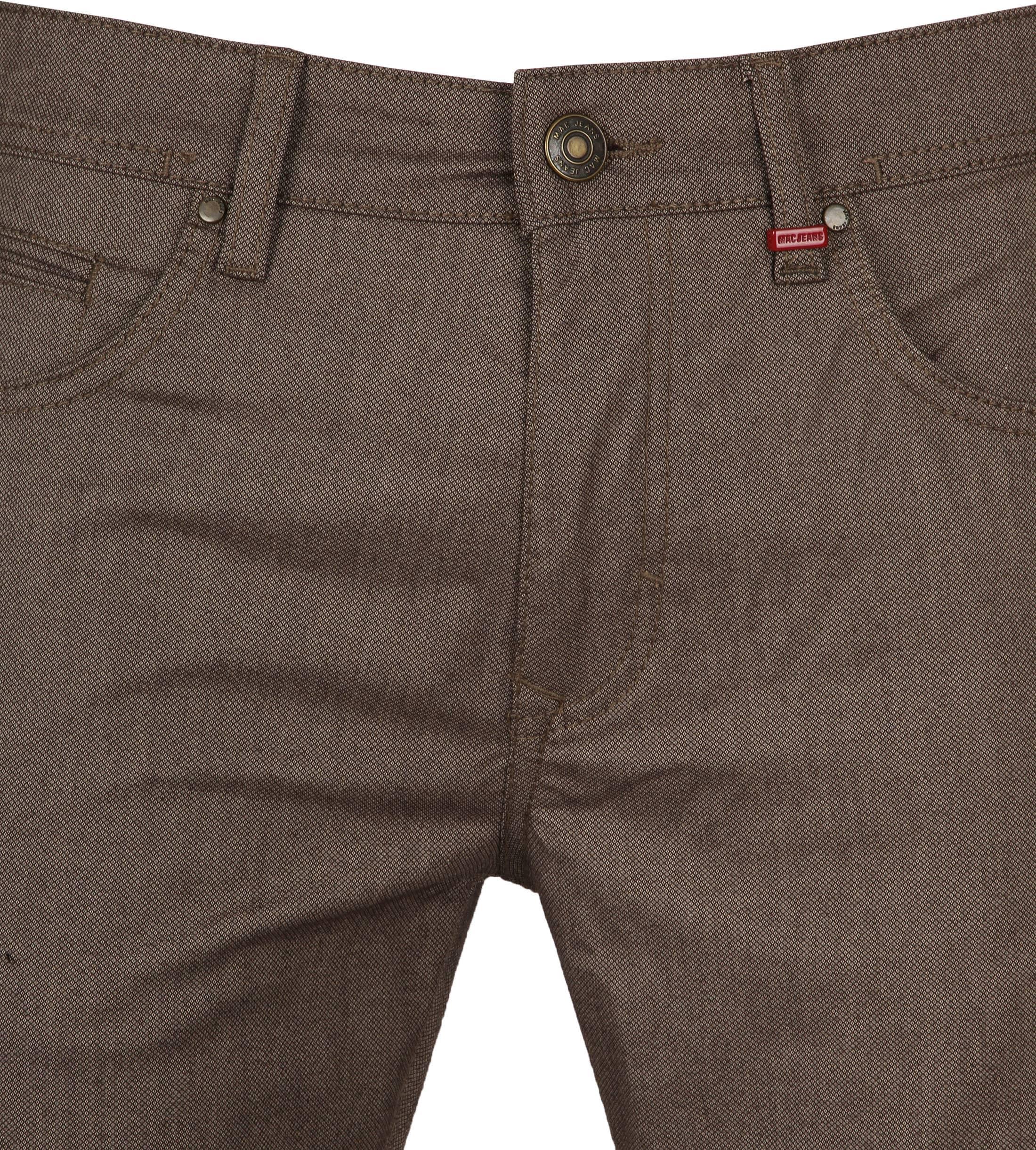 Mac Trousers Arne Pipe Terra Brown foto 1