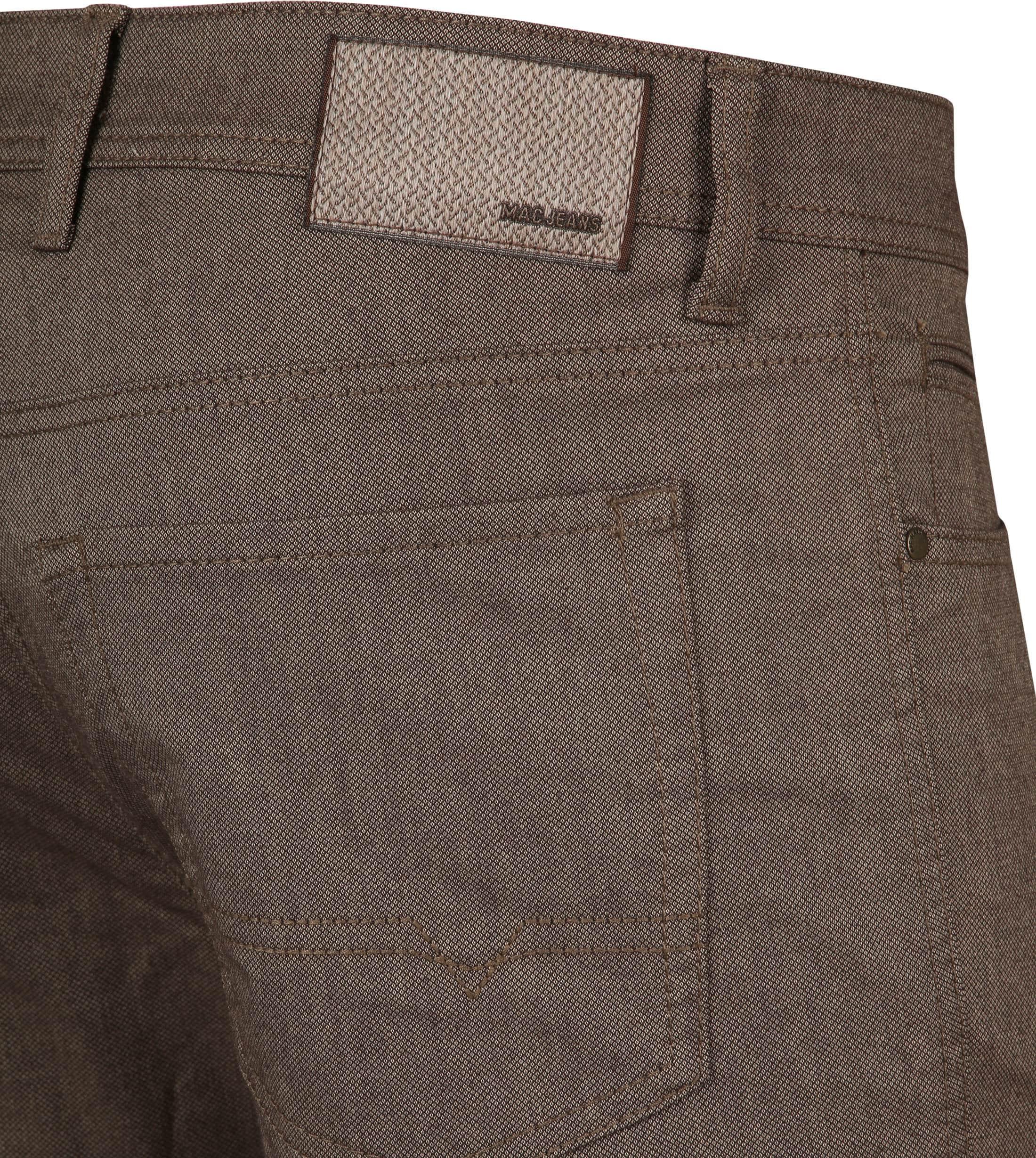 Mac Trousers Arne Pipe Terra Brown foto 3