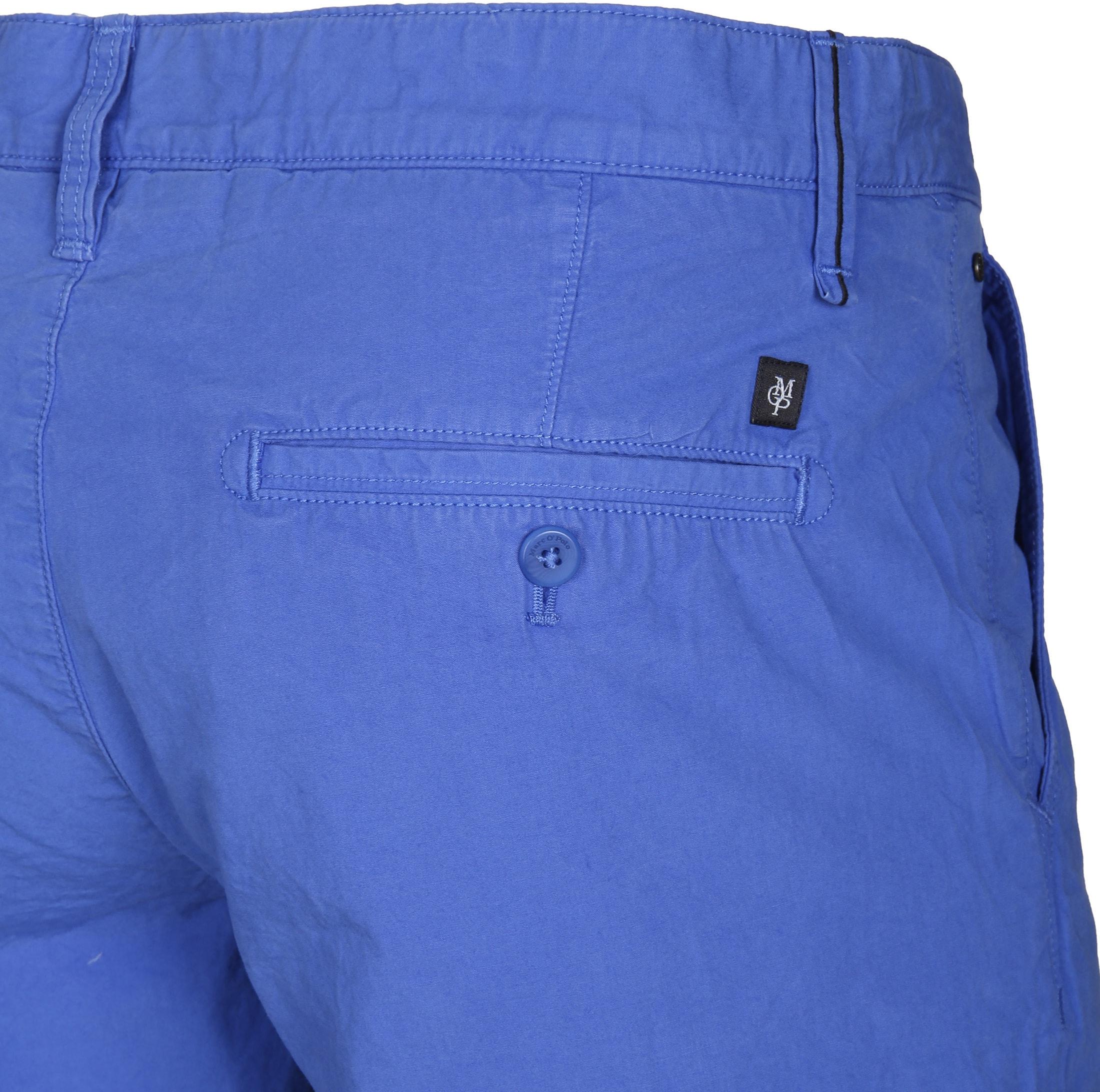 Marc O'Polo Bermuda Uni Blau foto 1