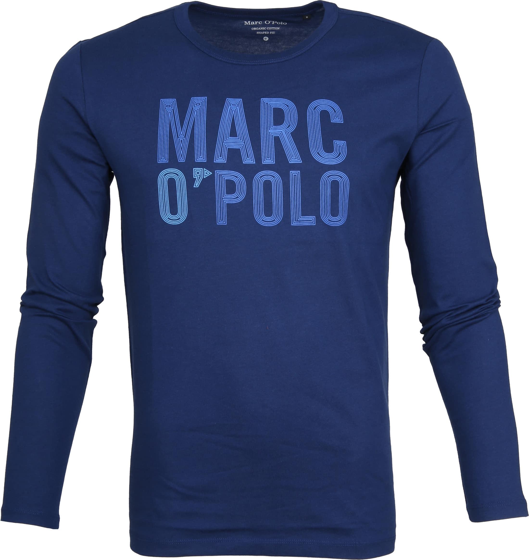 Marc O'Polo Blauw Longsleeve foto 0