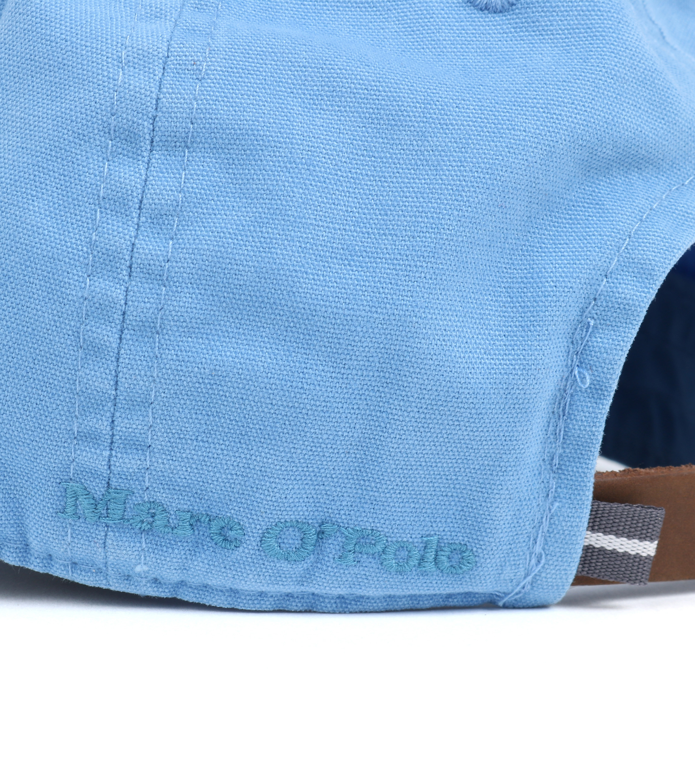 Marc O'Polo Cap Logo Blauw foto 2